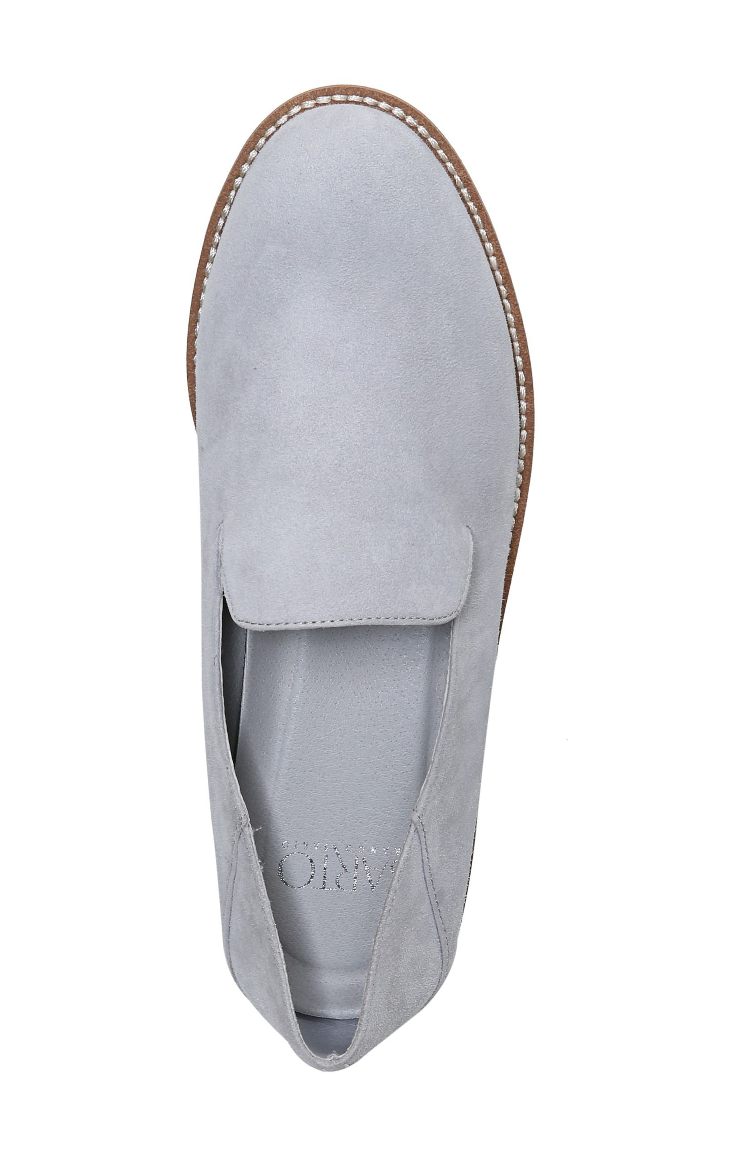Jaxton Loafer,                             Alternate thumbnail 7, color,                             Artic Grey Suede