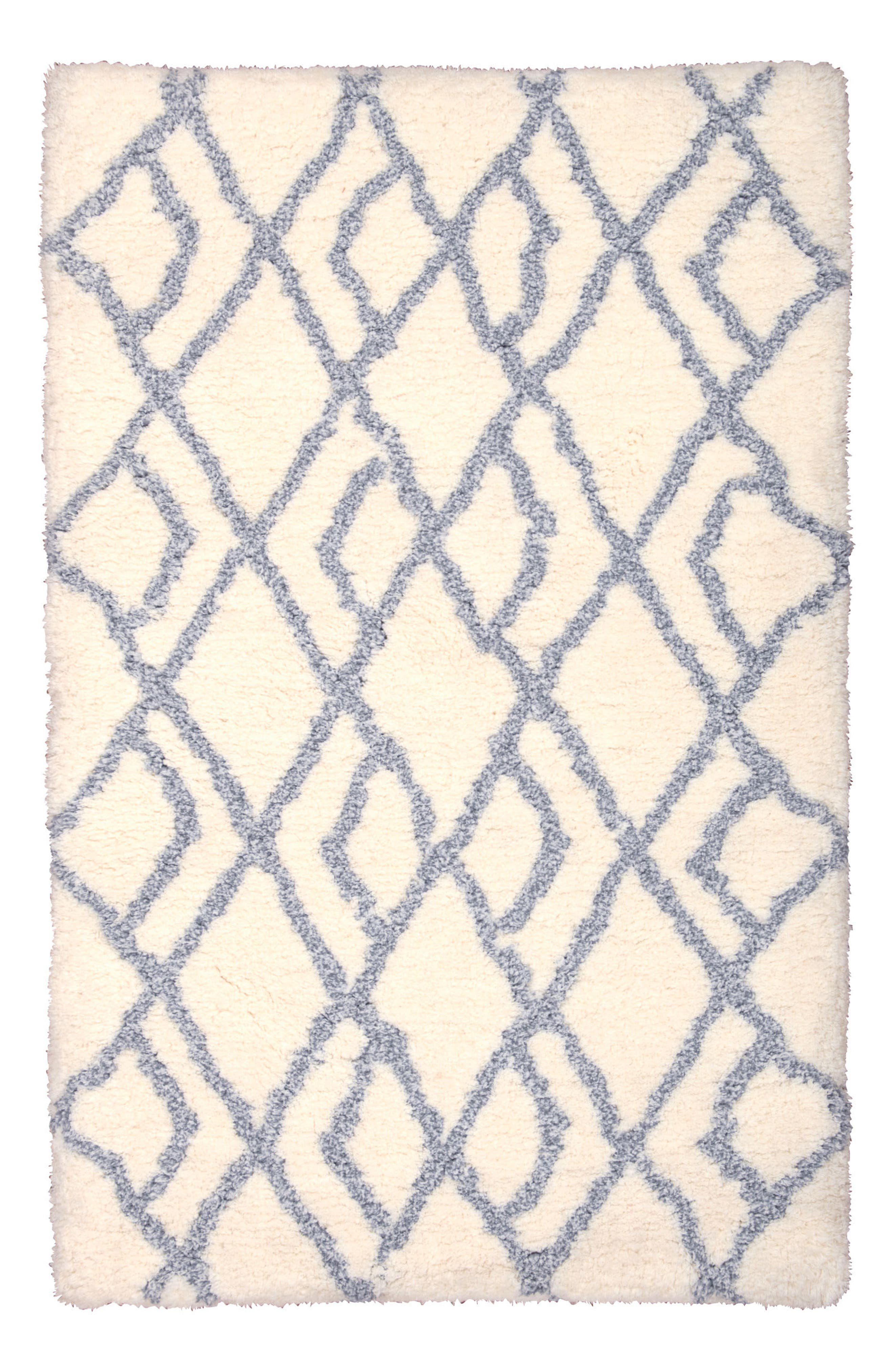 Morris Rug,                         Main,                         color, Ivory Blue