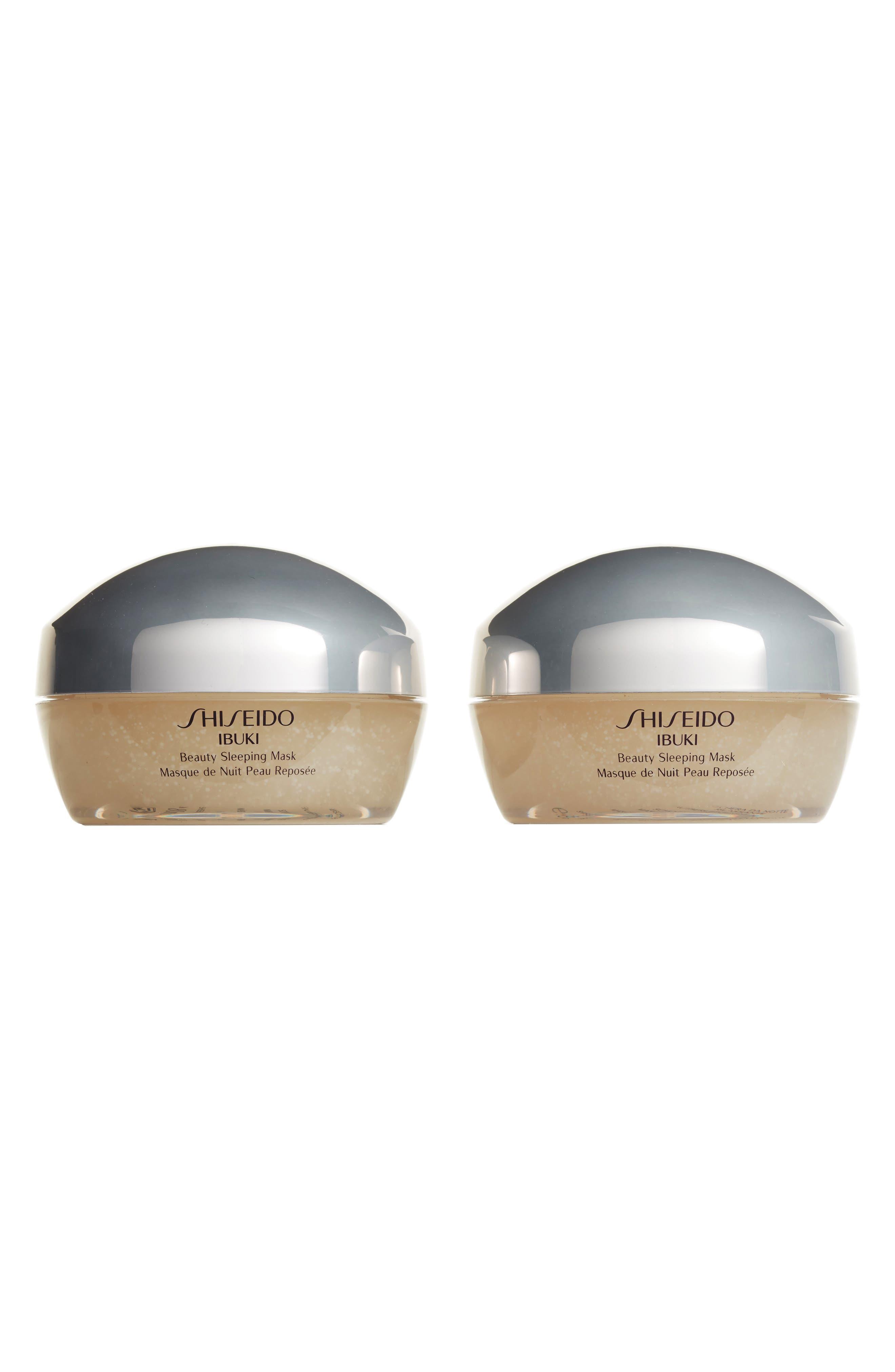 Shiseido Ibuki Beauty Sleeping Mask Duo ($80 Value)