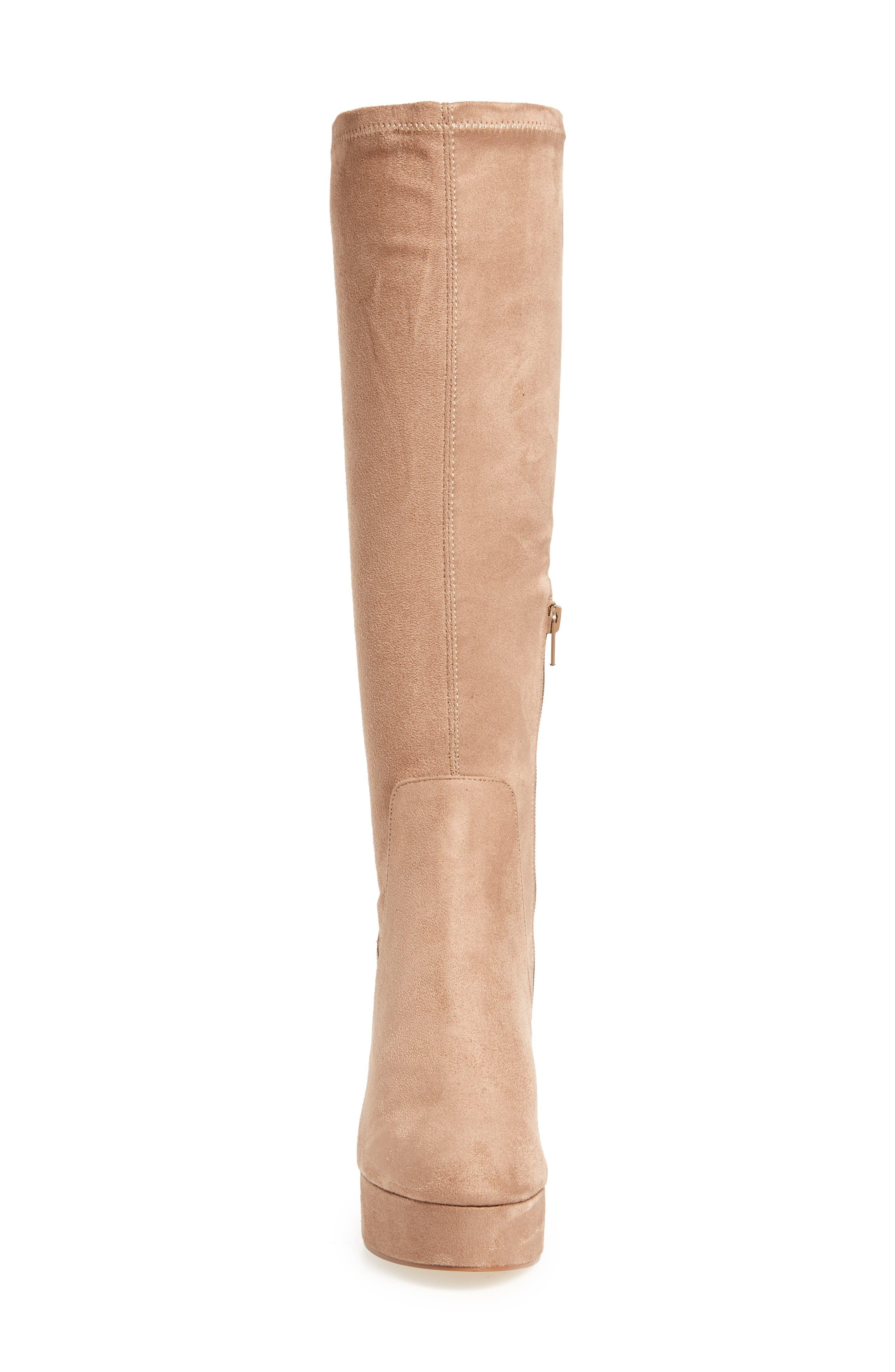 Alternate Image 4  - Chinese Laundry Nancy Knee High Platform Boot (Women)