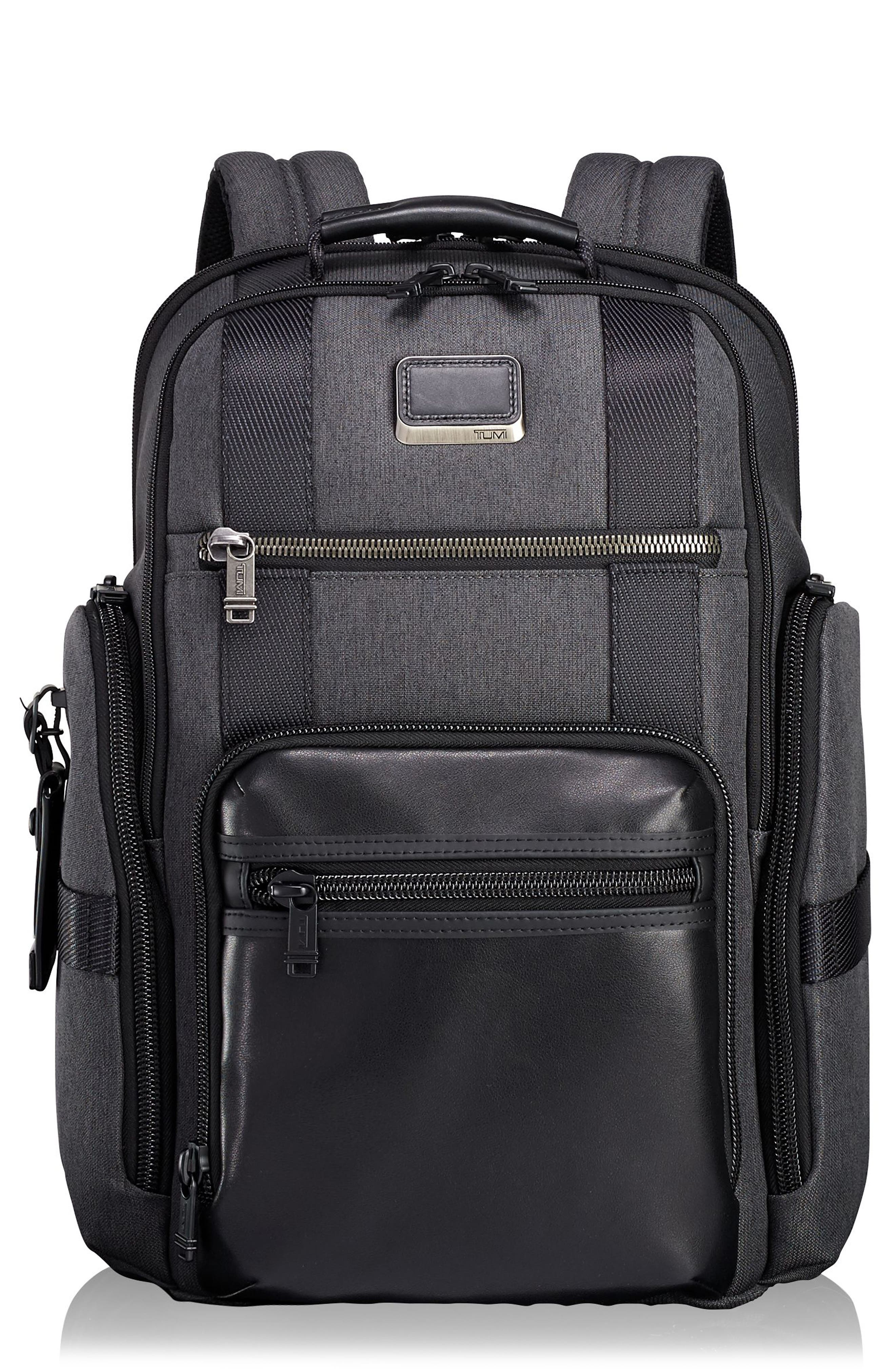 Alpha Bravo - Sheppard Deluxe Backpack,                             Main thumbnail 1, color,                             Anthracite