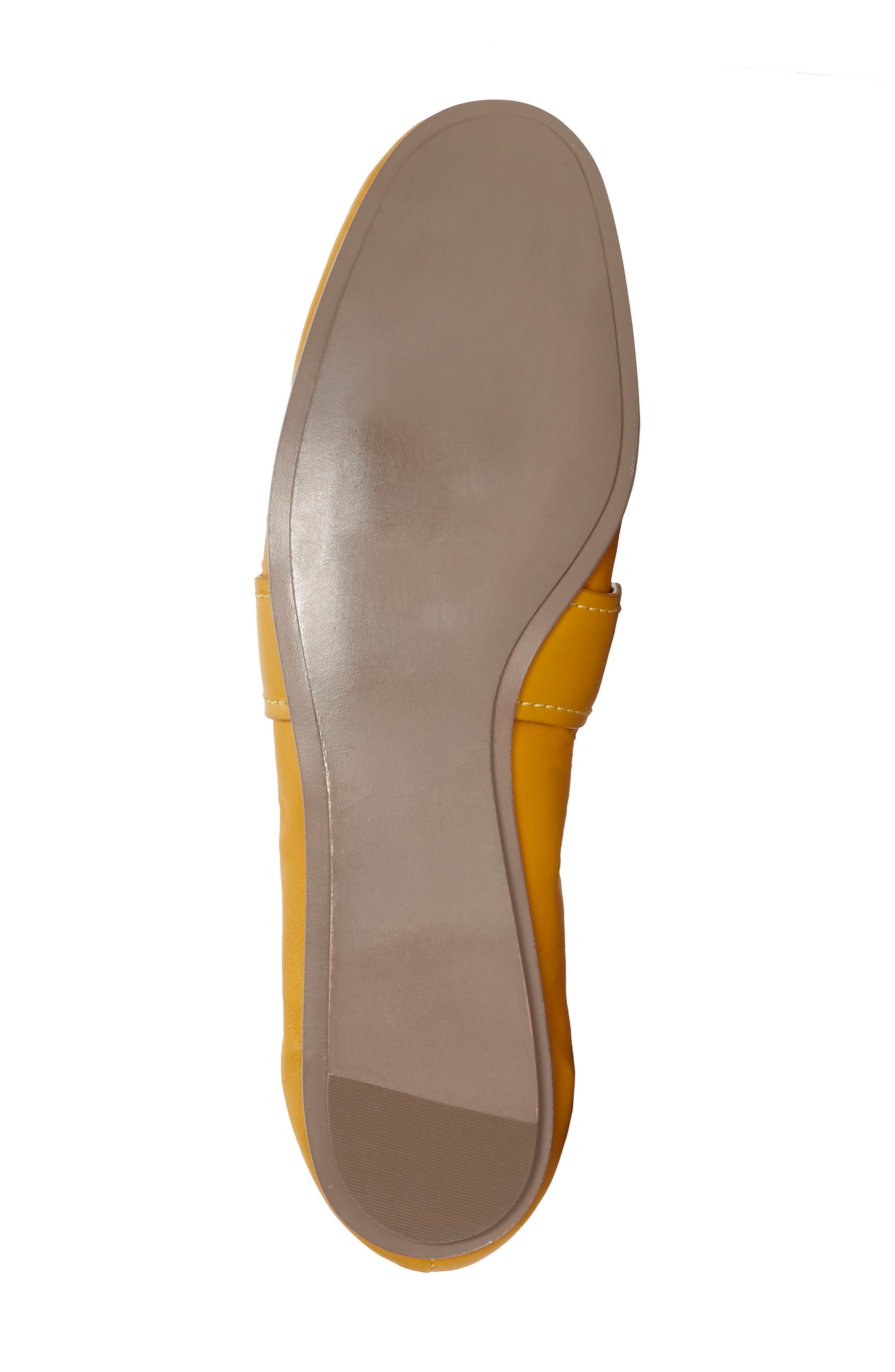 Erin Loafer Flat,                             Alternate thumbnail 5, color,                             Mustard