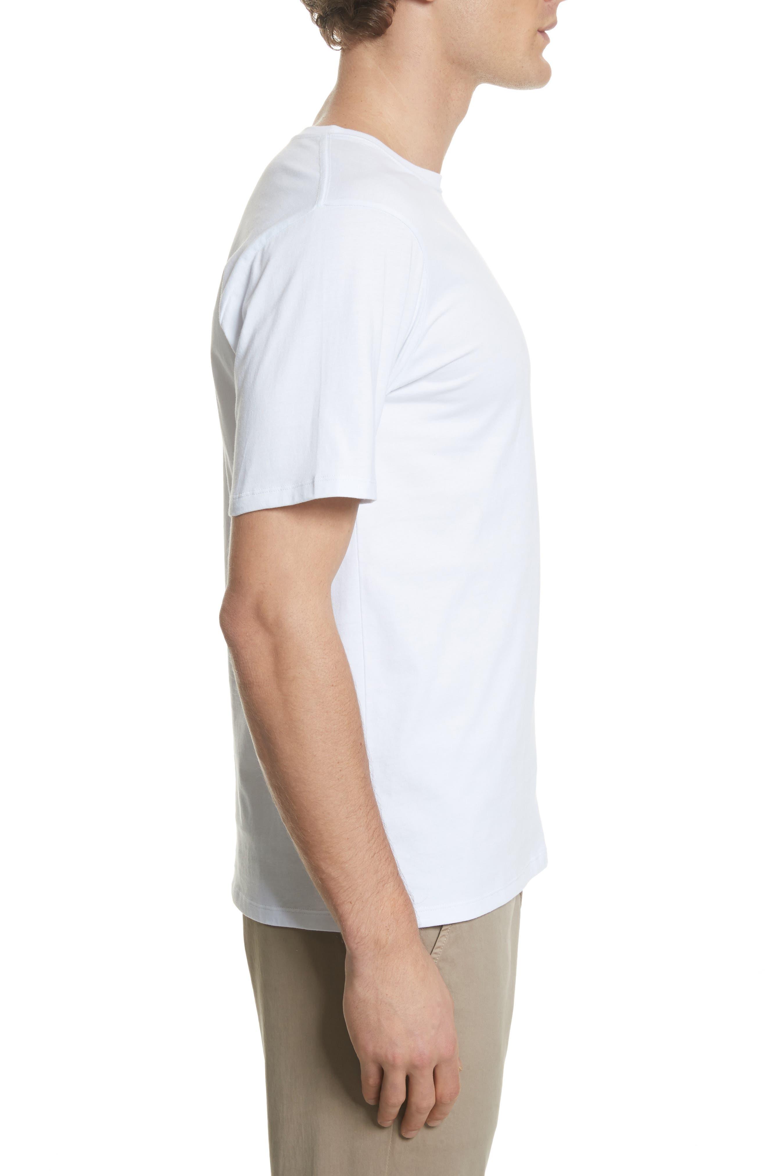Miller Graphic T-Shirt,                             Alternate thumbnail 3, color,                             White