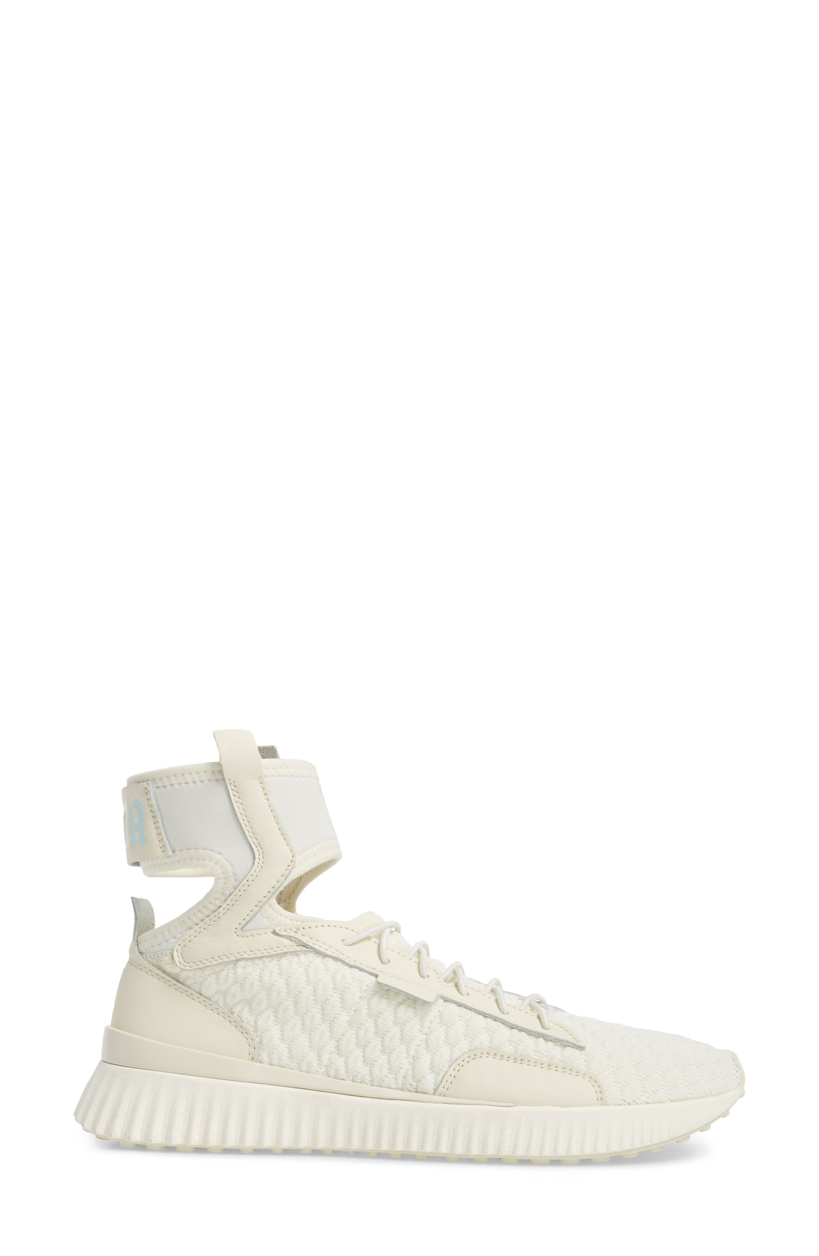 FENTY PUMA by Rihanna High Top Sneaker,                             Alternate thumbnail 3, color,                             Vanilla Ice/ Sterling Blue
