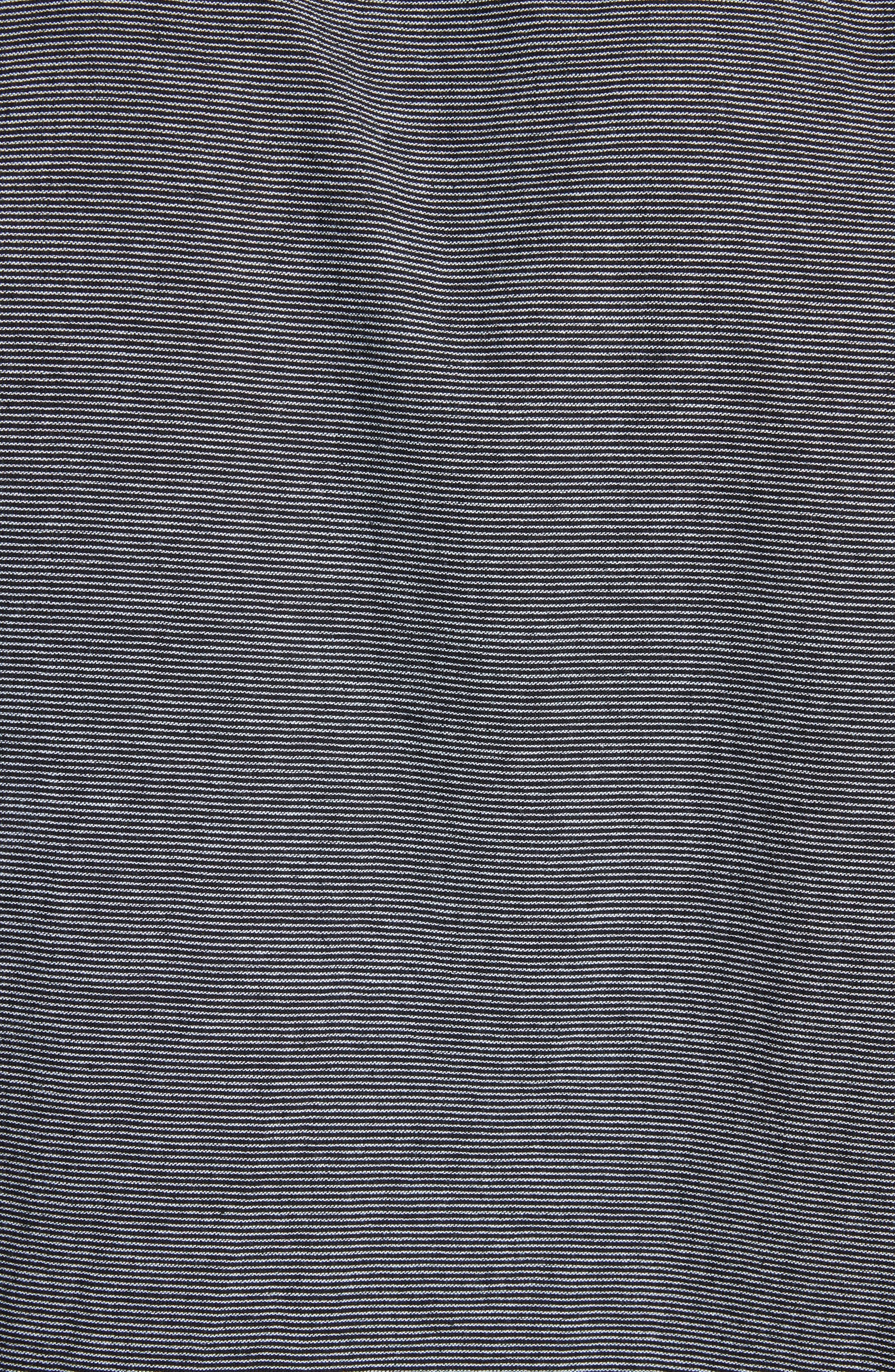 fit 3 Beach Stripe Shirt,                             Alternate thumbnail 5, color,                             Stripe