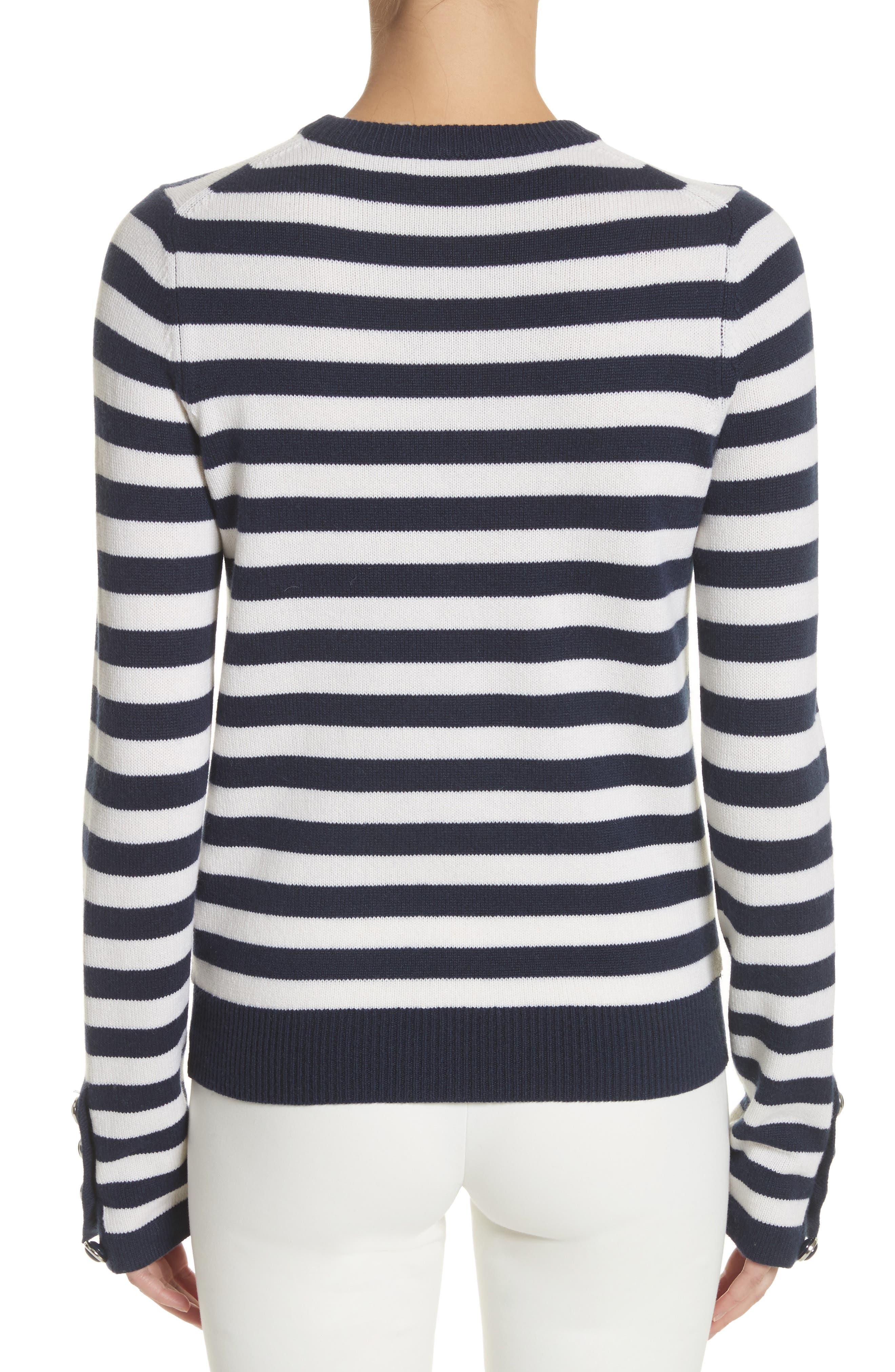 Alternate Image 2  - Michael Kors Button Cuff Cashmere Sweater