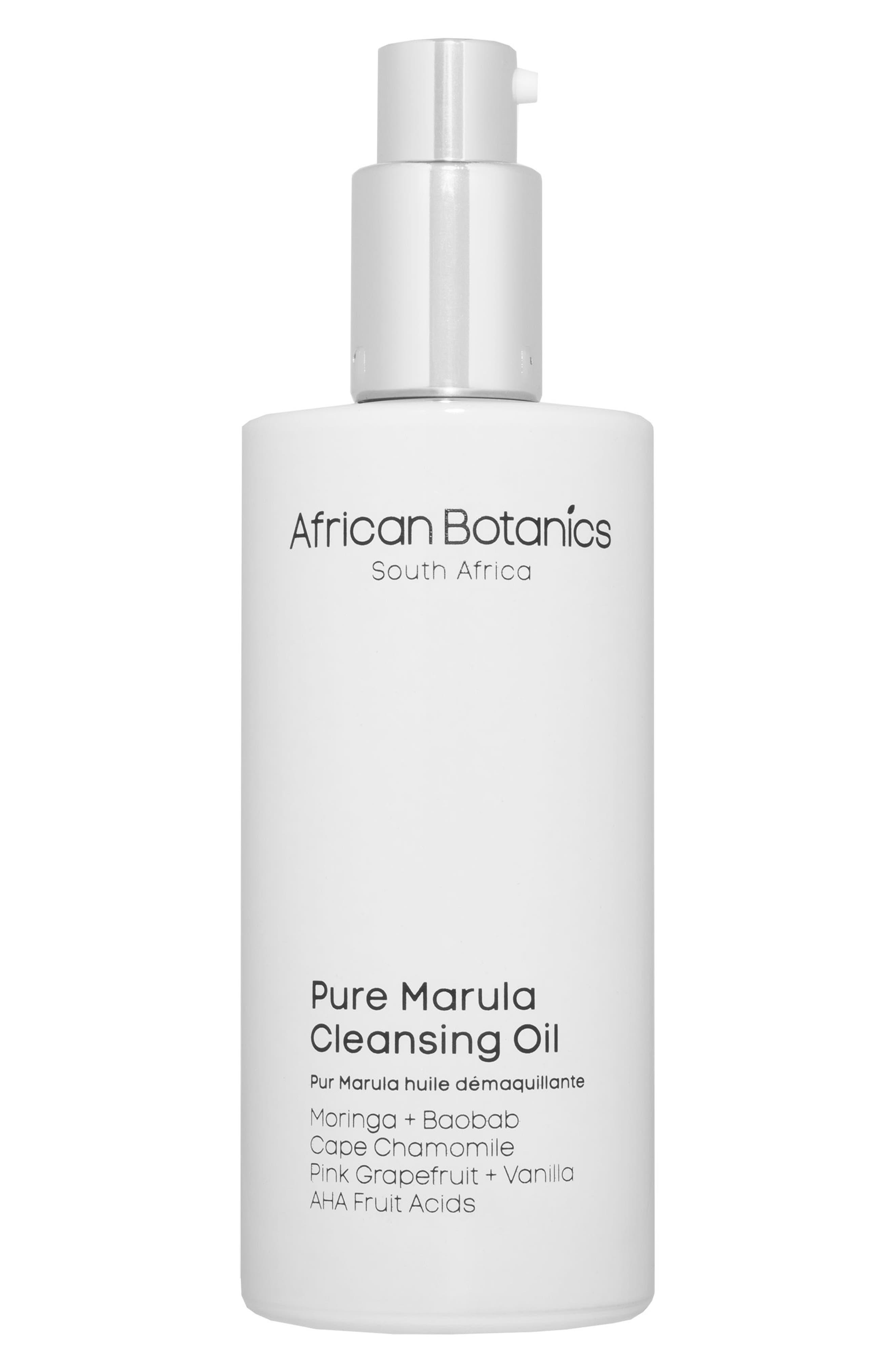 Alternate Image 1 Selected - African Botanics Pure Marula Cleansing Oil