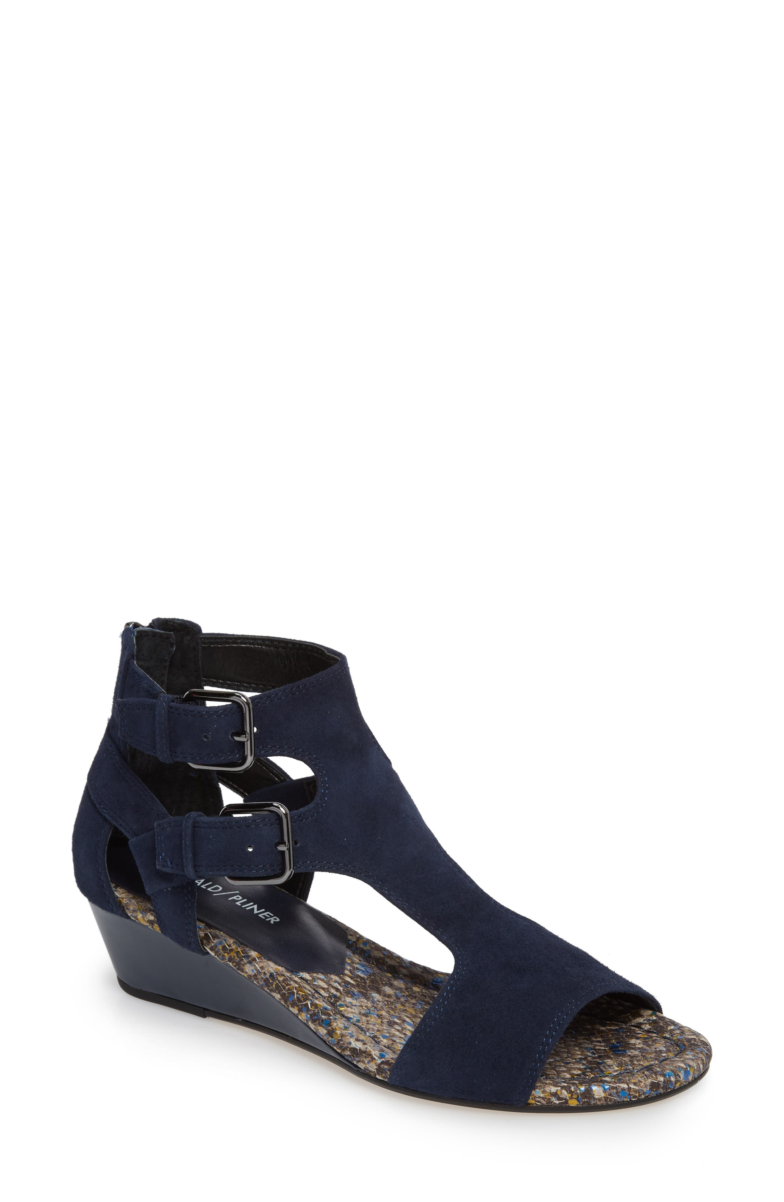 Alternate Image 1 Selected - Donald Pliner Eden II Wedge Sandal (Women)