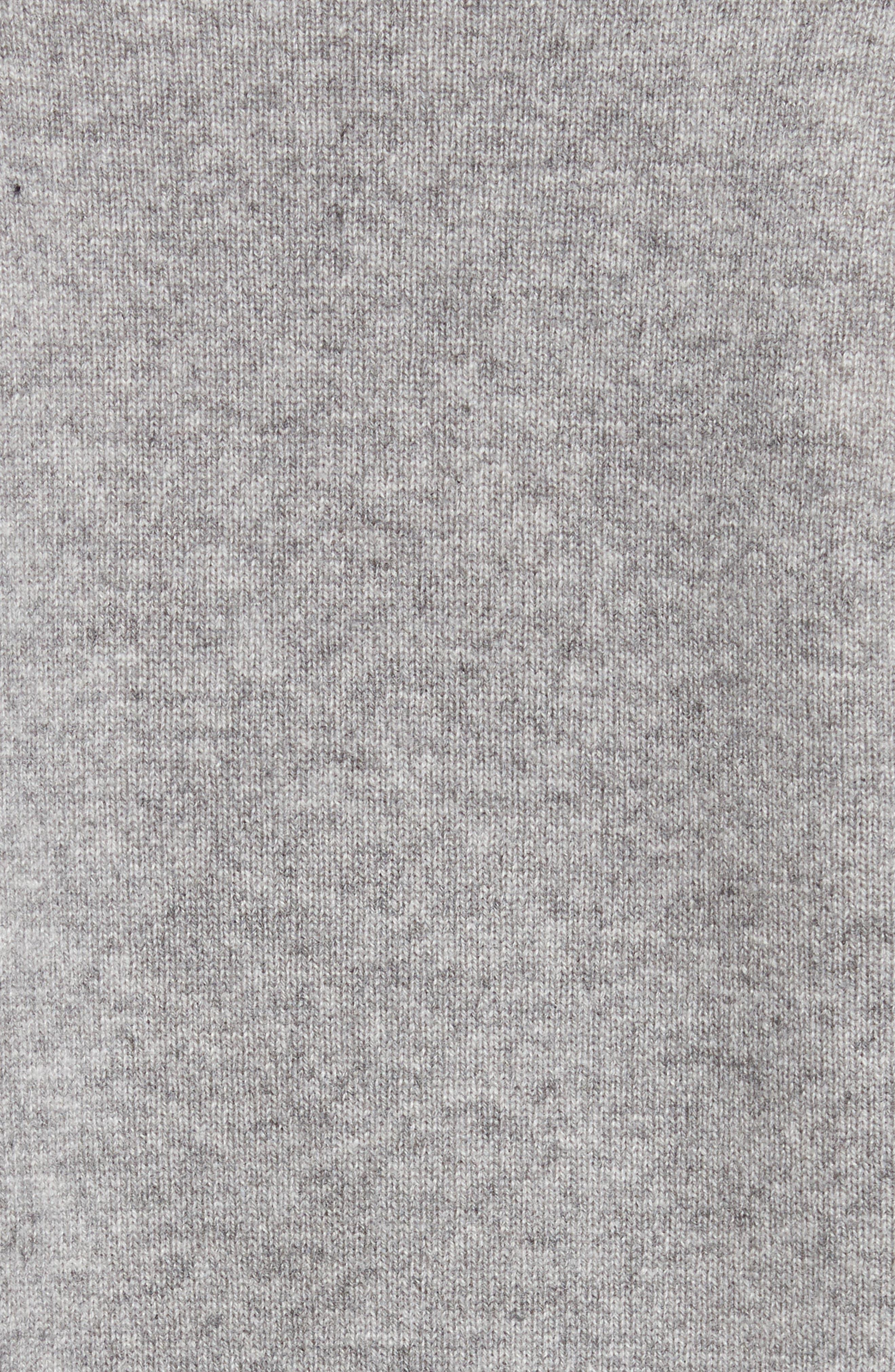 Button Sleeve Cashmere Sweater,                             Alternate thumbnail 5, color,                             Husky