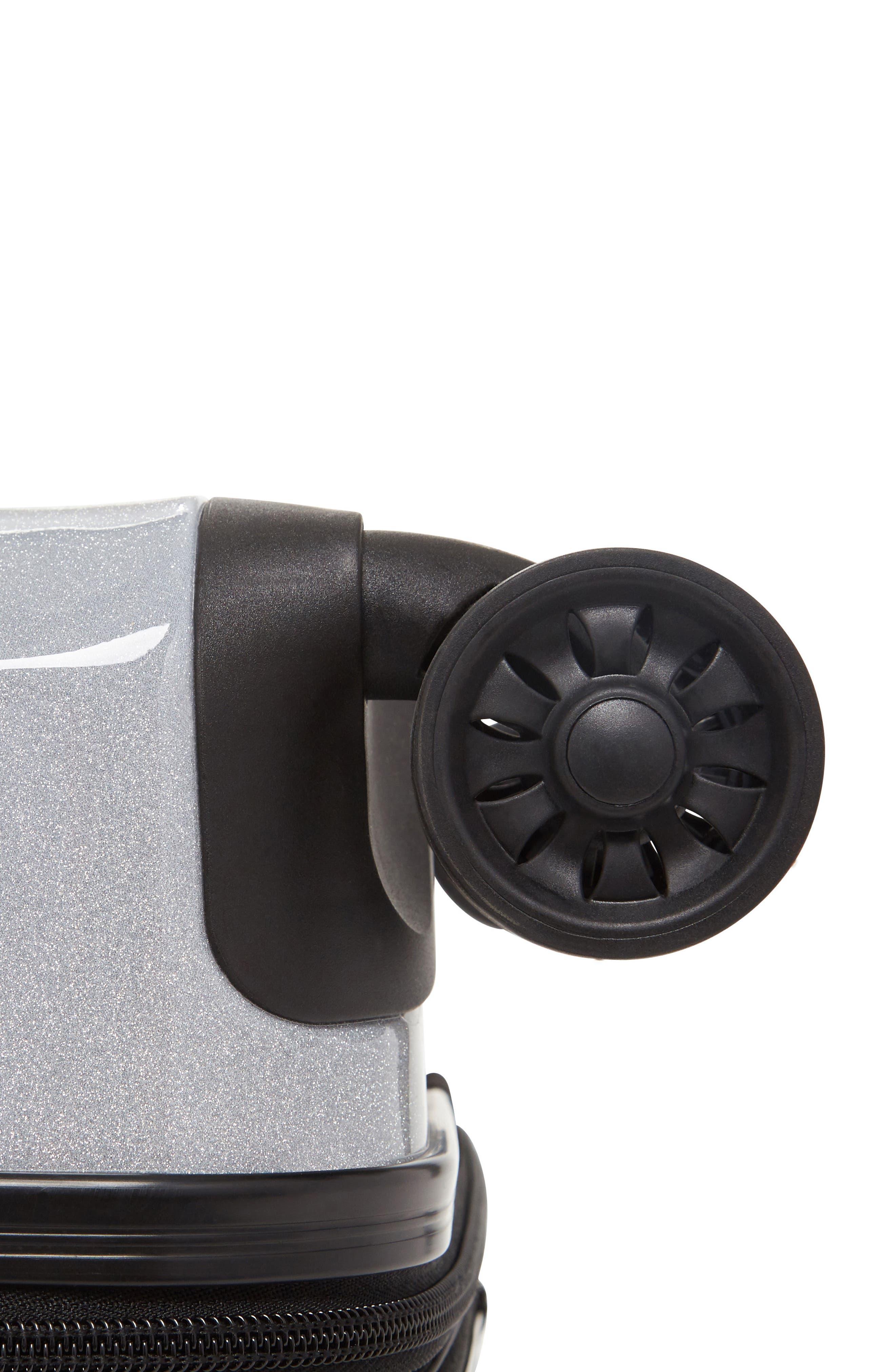 Alternate Image 7  - CALPAK Medora Glitter 20-Inch Hardshell Spinner Carry-On Suitcase