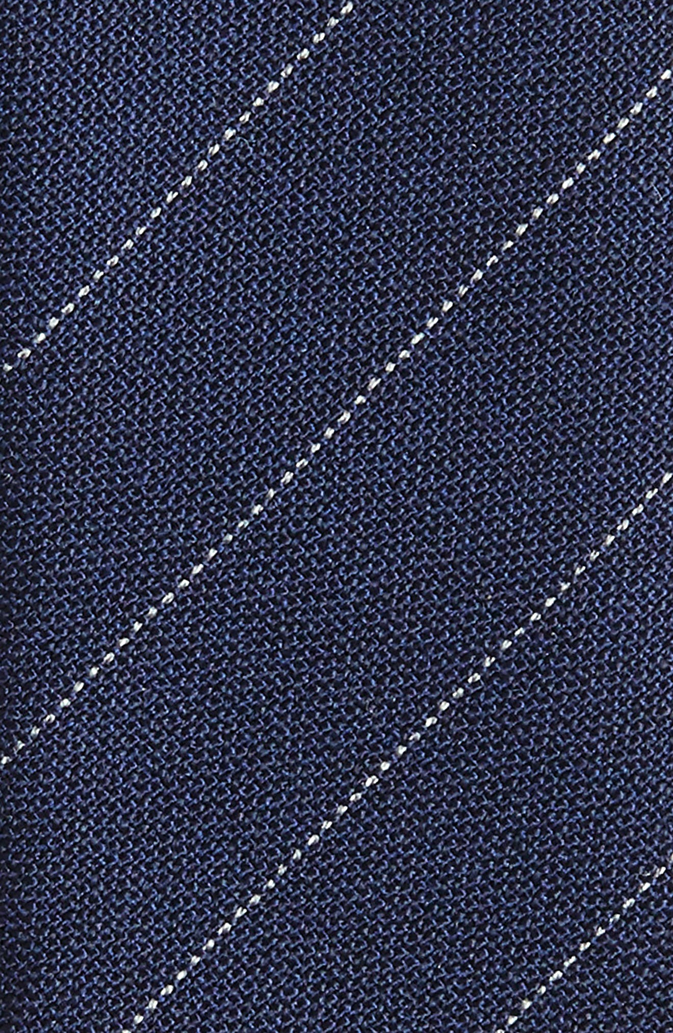 Alternate Image 2  - Eleventy Stripe Wool Tie