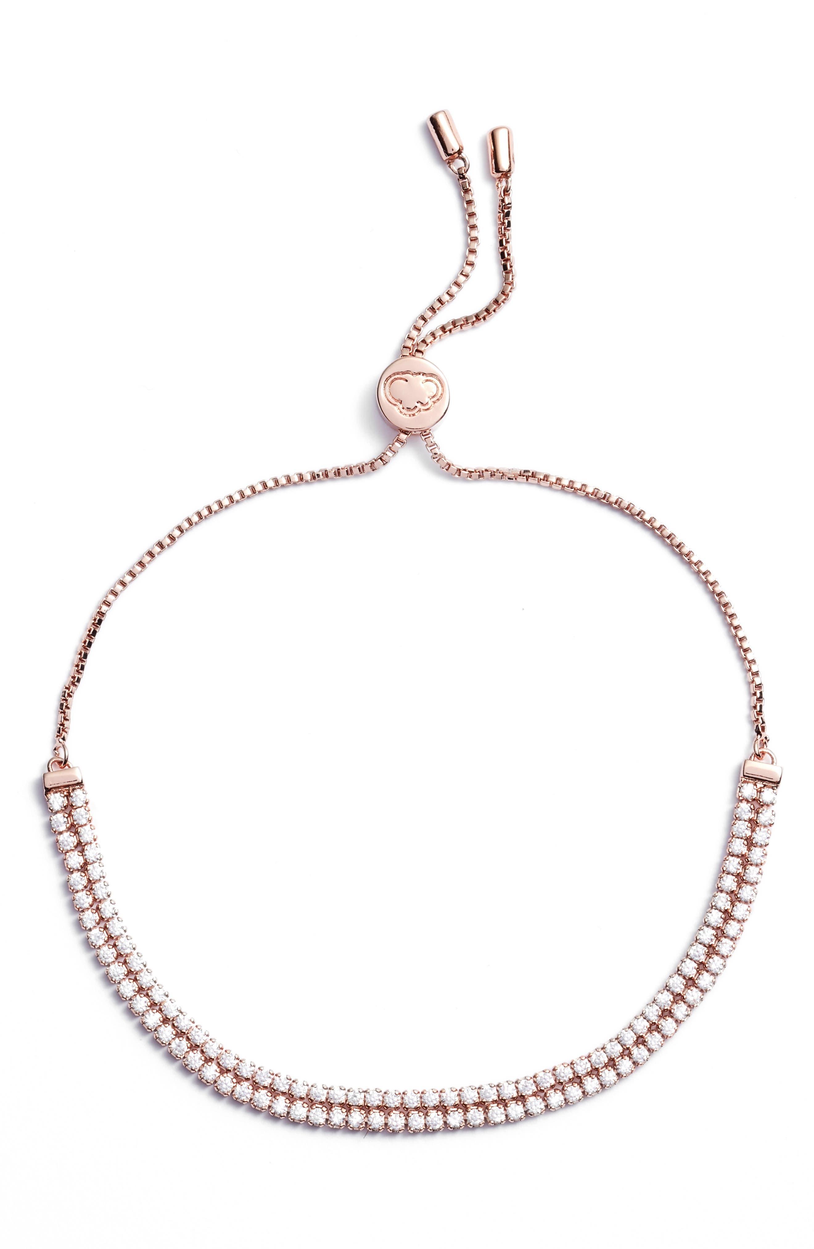 Alternate Image 1 Selected - Estella Bartlett Double Strand Bracelet