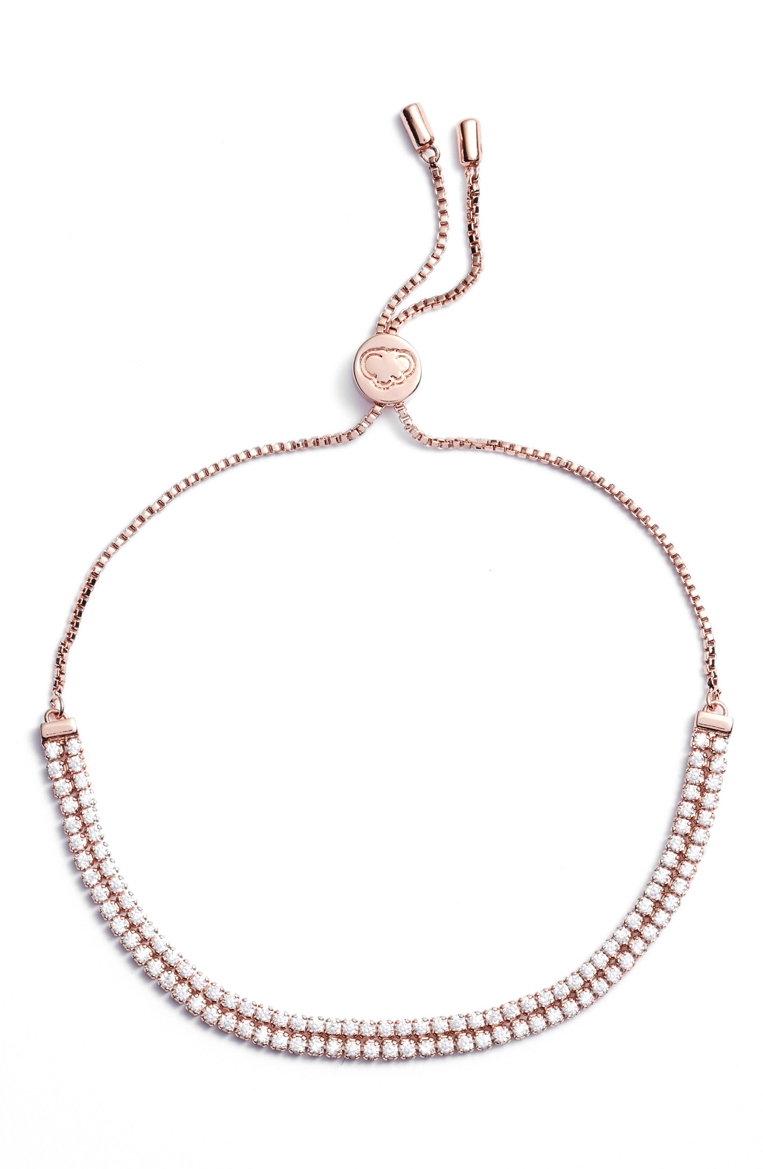 Main Image - Estella Bartlett Double Strand Bracelet