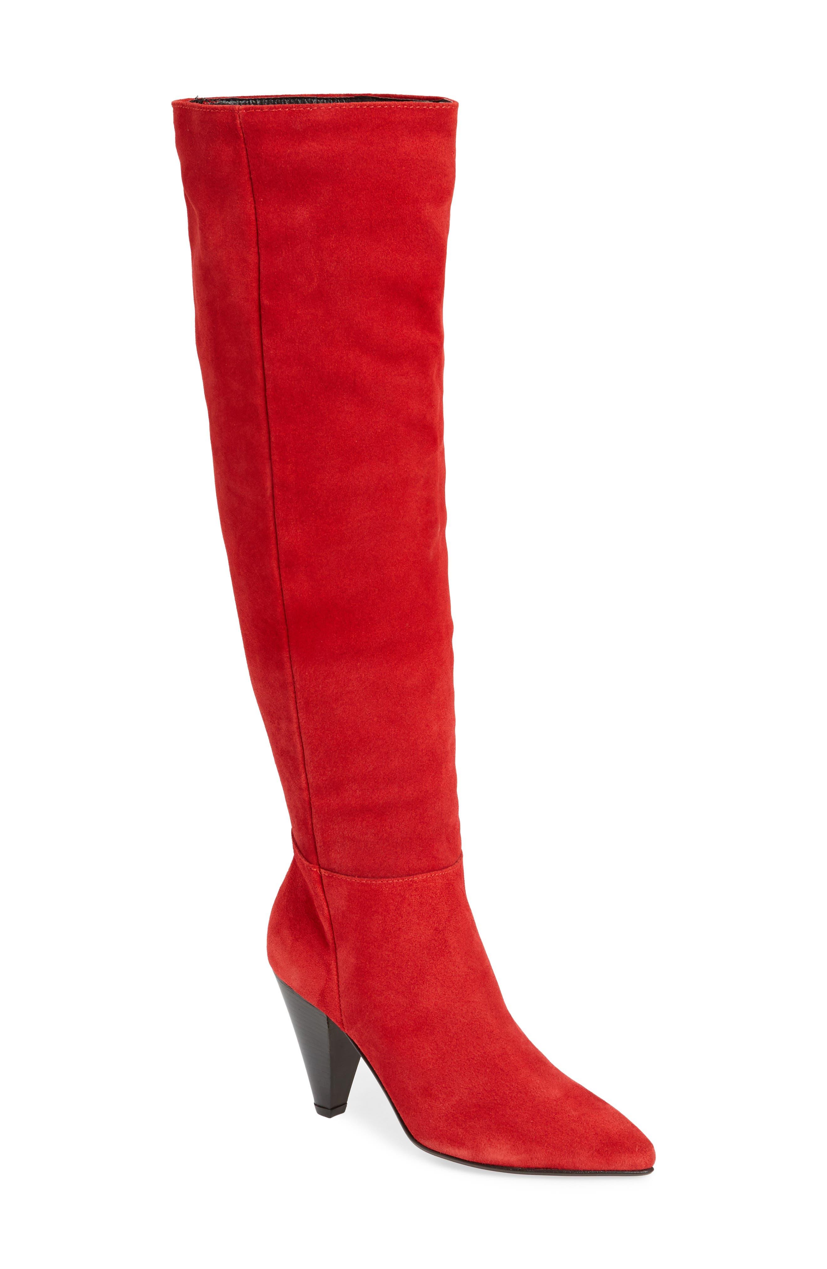 Topshop Box Knee High Boot (Women)