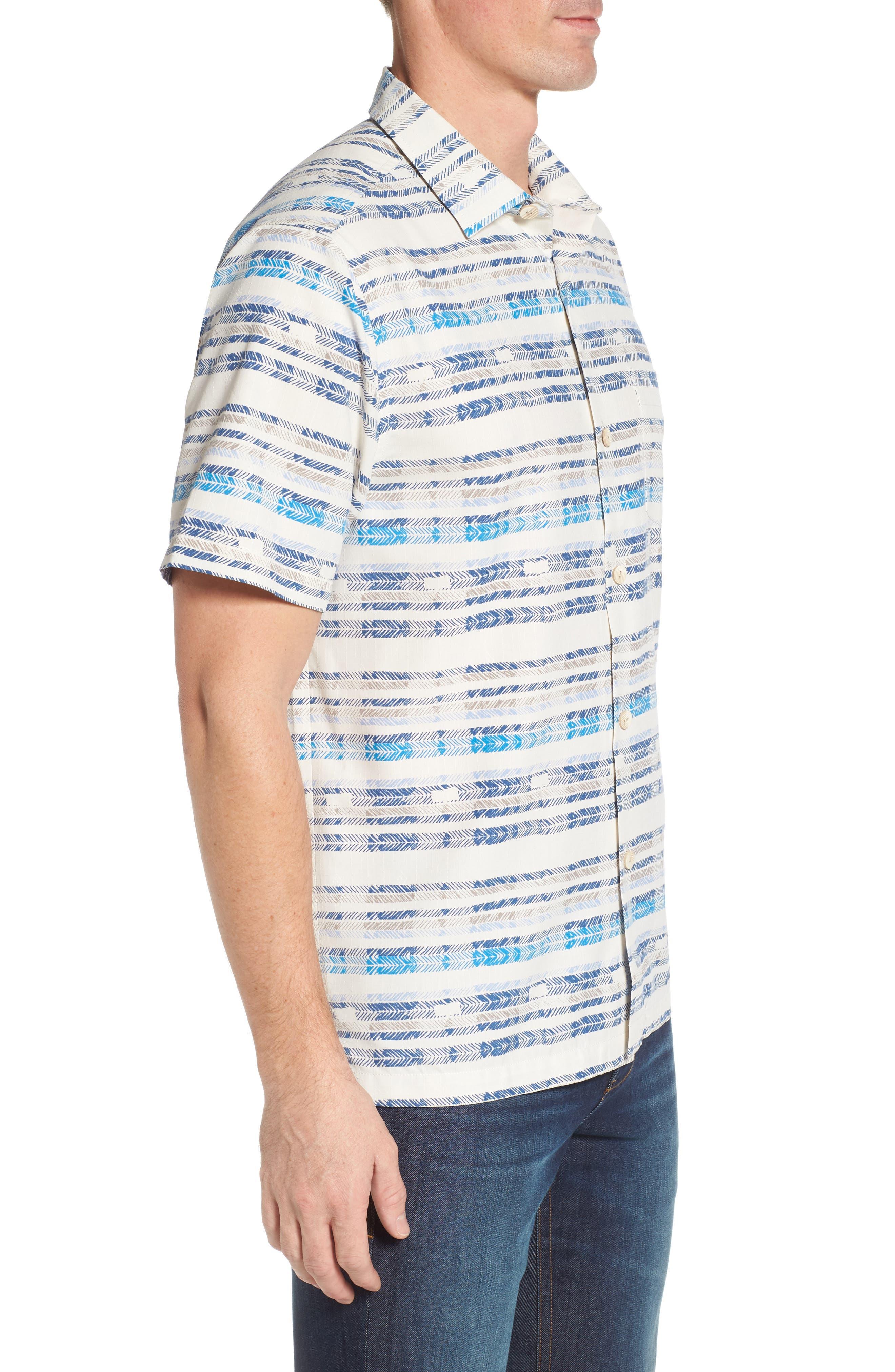 Breaker Bay Sport Shirt,                             Alternate thumbnail 3, color,                             Coconut Cream