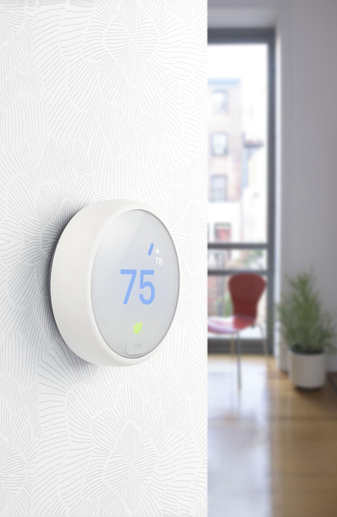 2-Pack Thermostat E,                             Alternate thumbnail 9, color,                             White