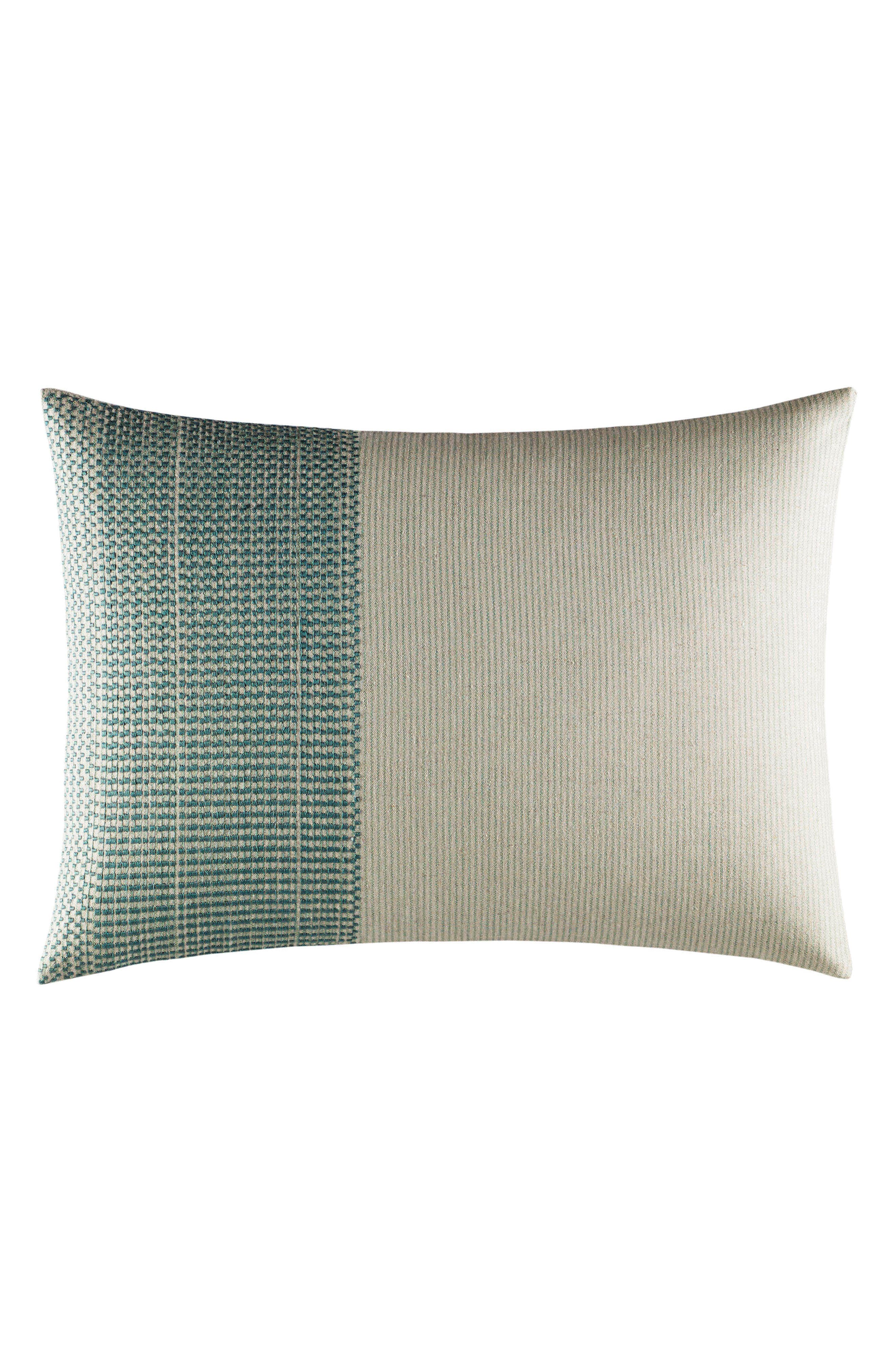 Eden Accent Pillow,                             Main thumbnail 1, color,                             Green