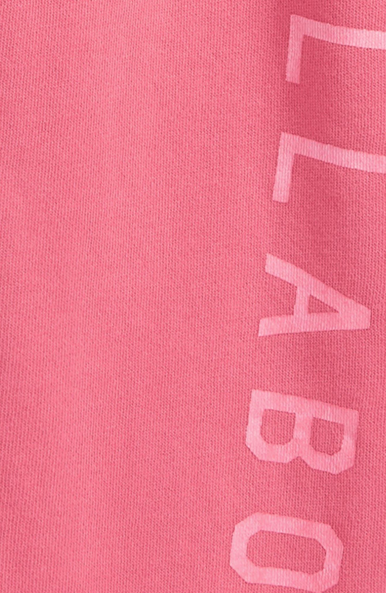 Alternate Image 2  - Billabong Logo Graphic Sweatpants (Little Girls & Big Girls)