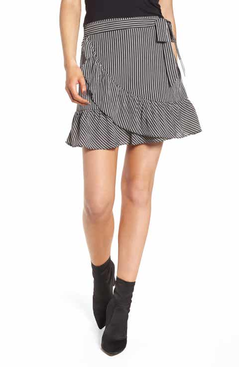J.O.A. Ruffle Miniskirt