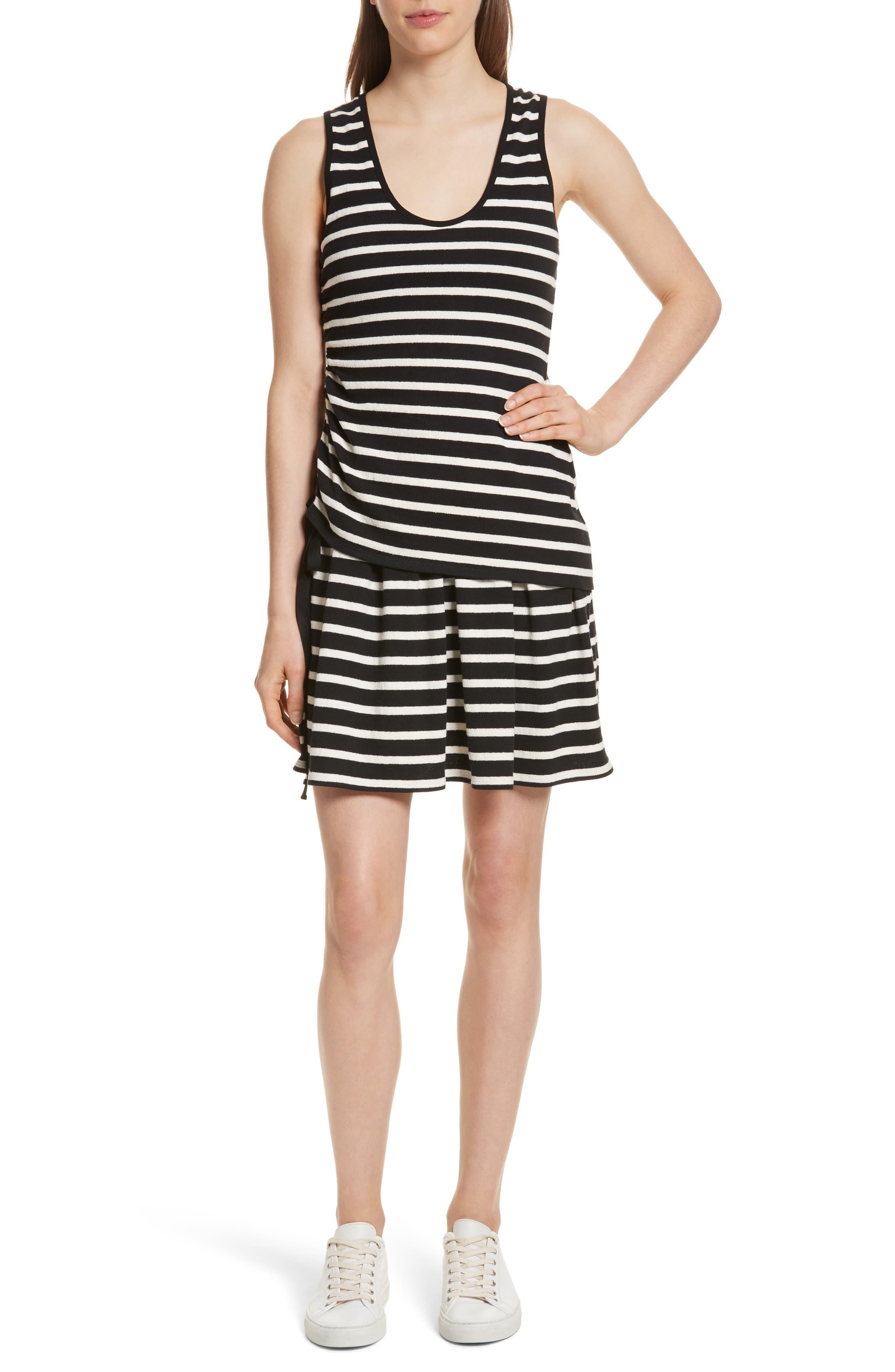 Derek Lam 10 Crosby Stripe Jersey Dress