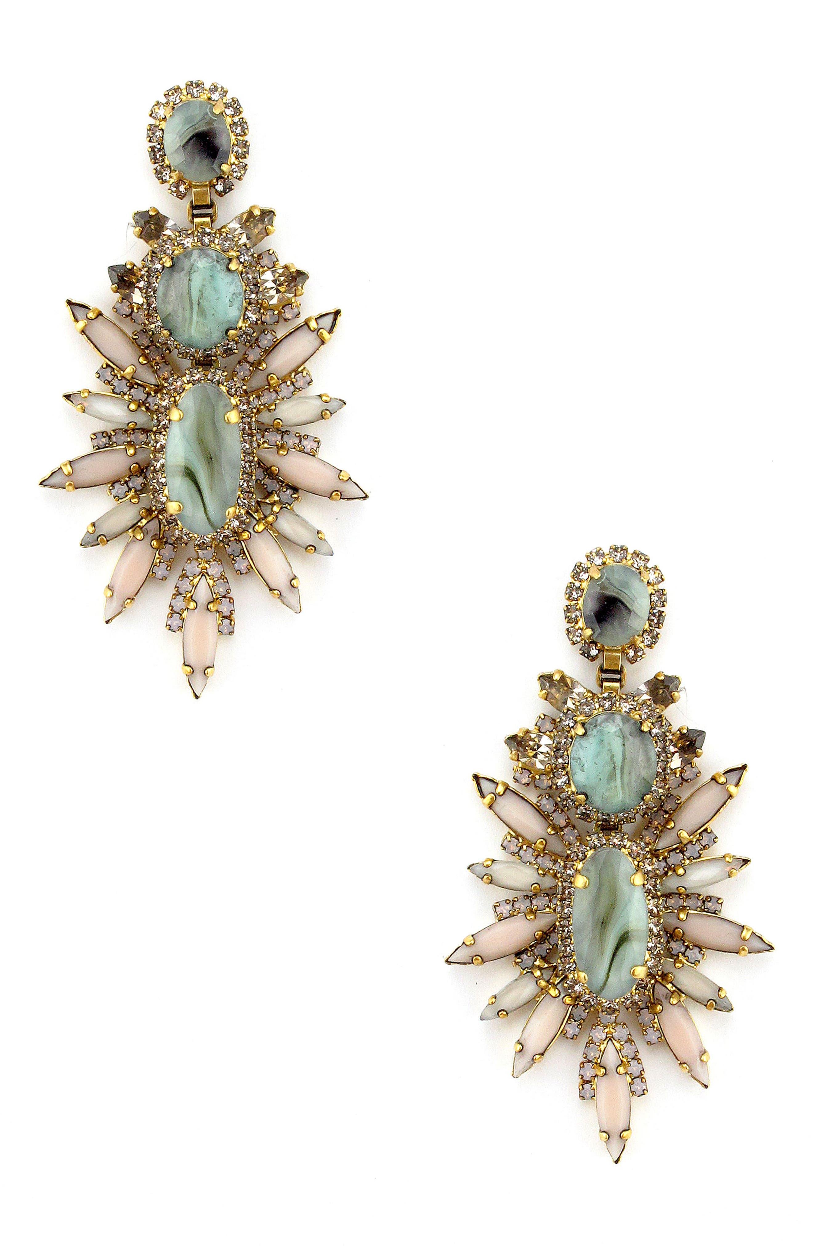 Carmella Stud Earrings,                         Main,                         color, Blush
