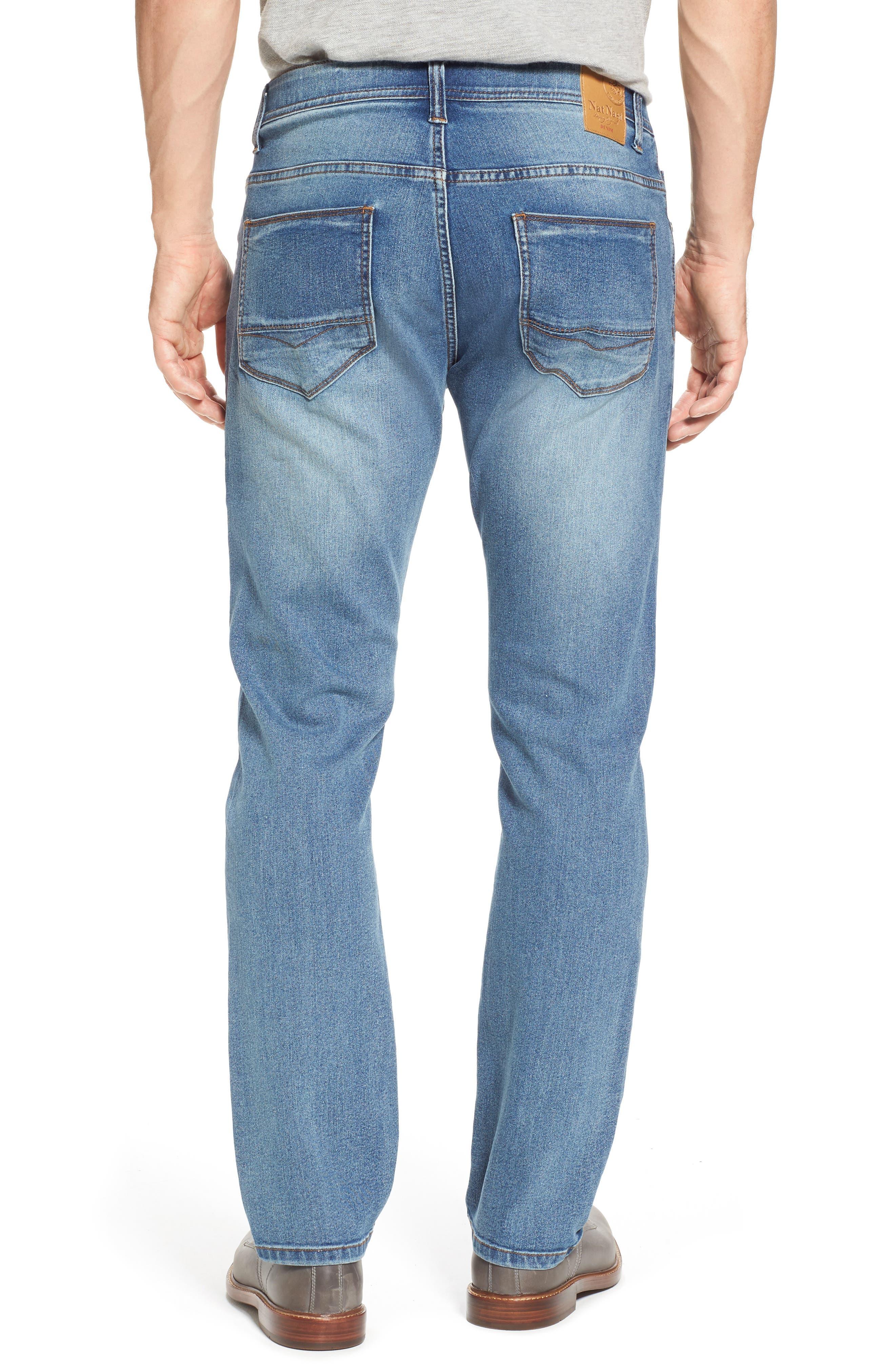 Maverick Stretch Slim Fit Jeans,                             Alternate thumbnail 2, color,                             Beach Wash