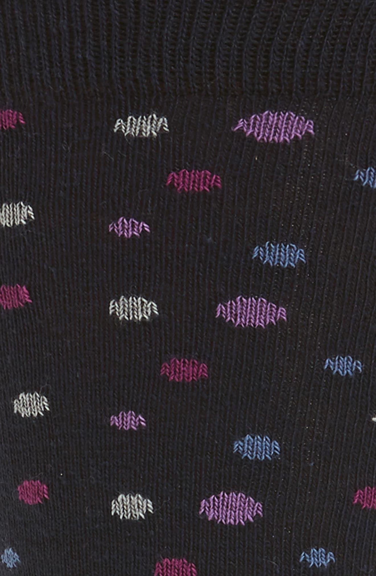 Polka-Dot Socks,                             Alternate thumbnail 2, color,                             Navy