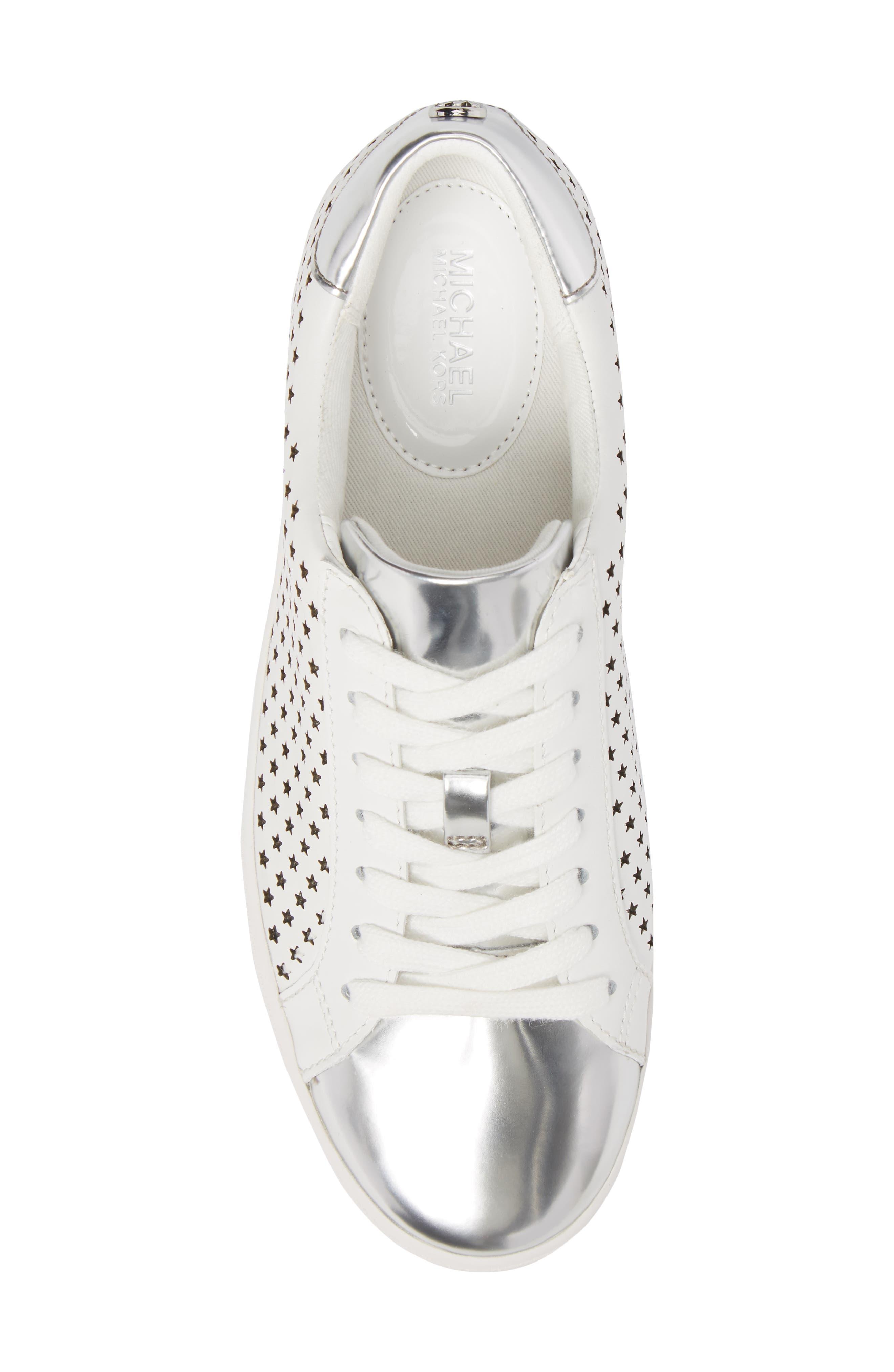 Irving Sneaker,                             Alternate thumbnail 5, color,                             Optic White