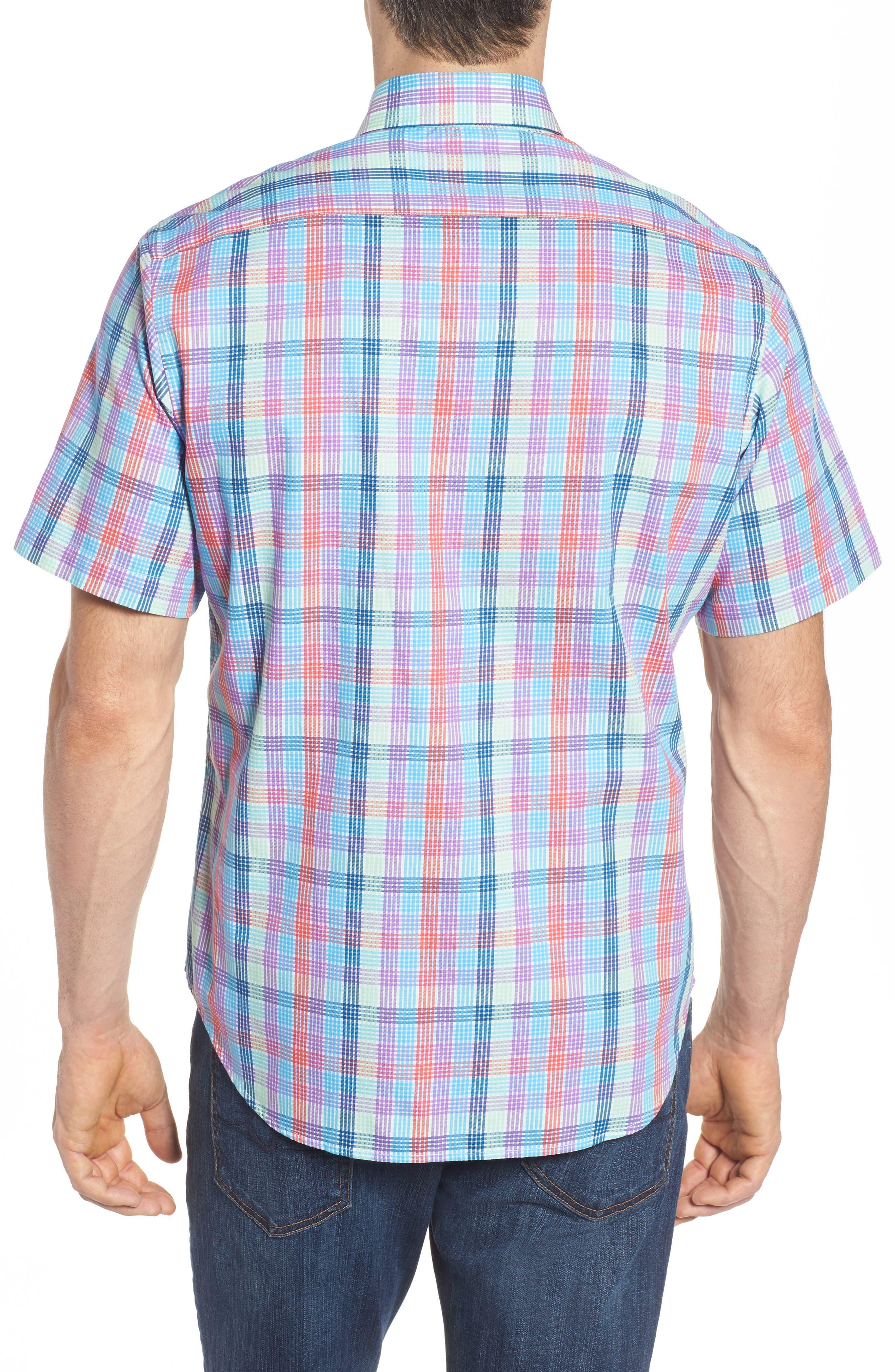 Alternate Image 2  - TailorByrd Slidell Regular Fit Check Sport Shirt