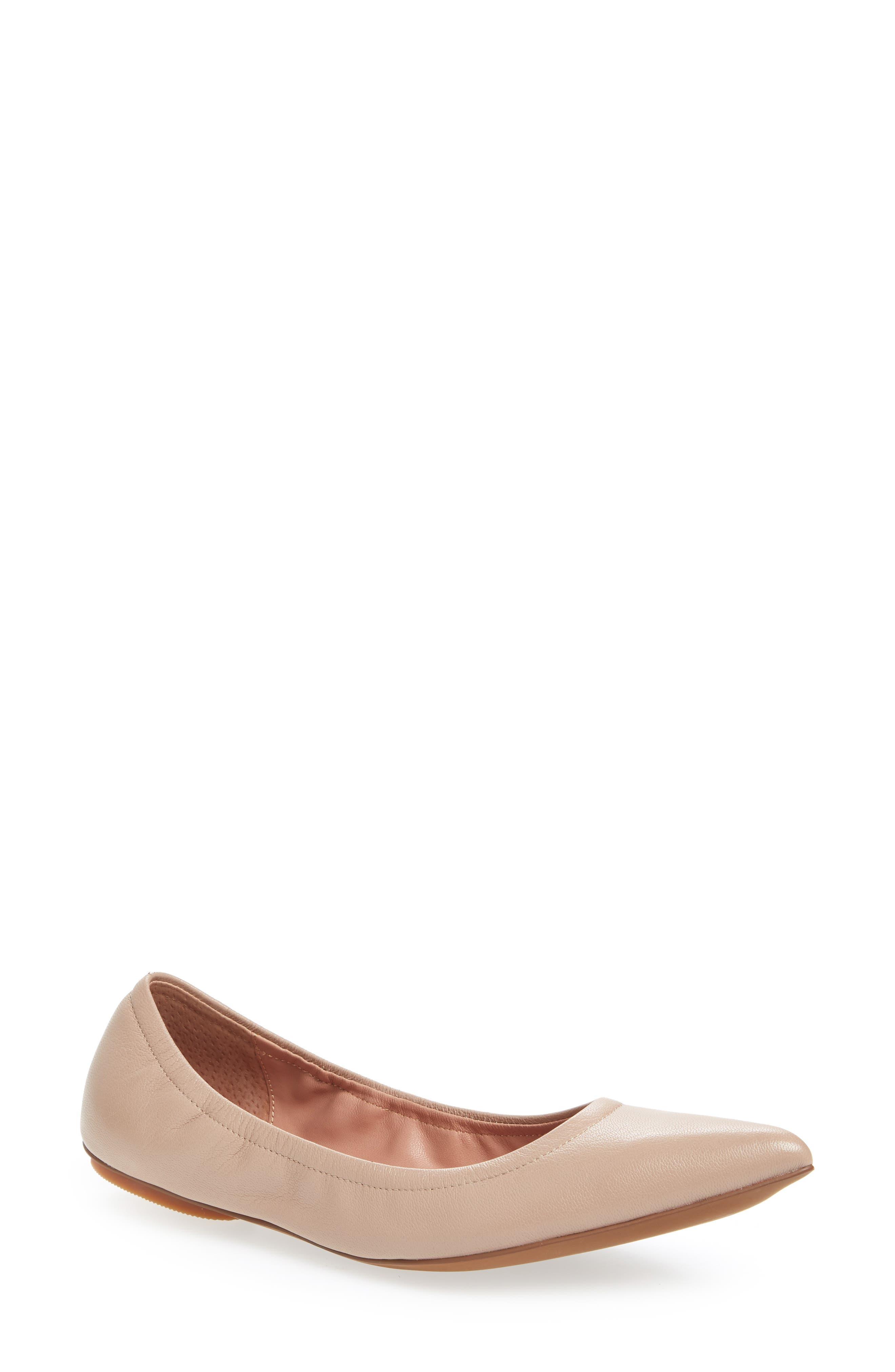 Linea Paolo Nico Pointy Toe Flat (Women)