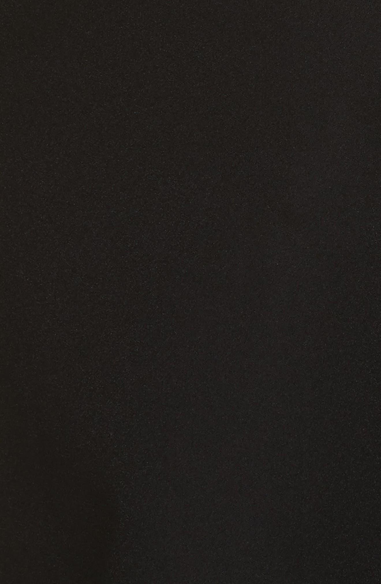 Perform Tech Perfect Sheath Dress,                             Alternate thumbnail 5, color,                             Black