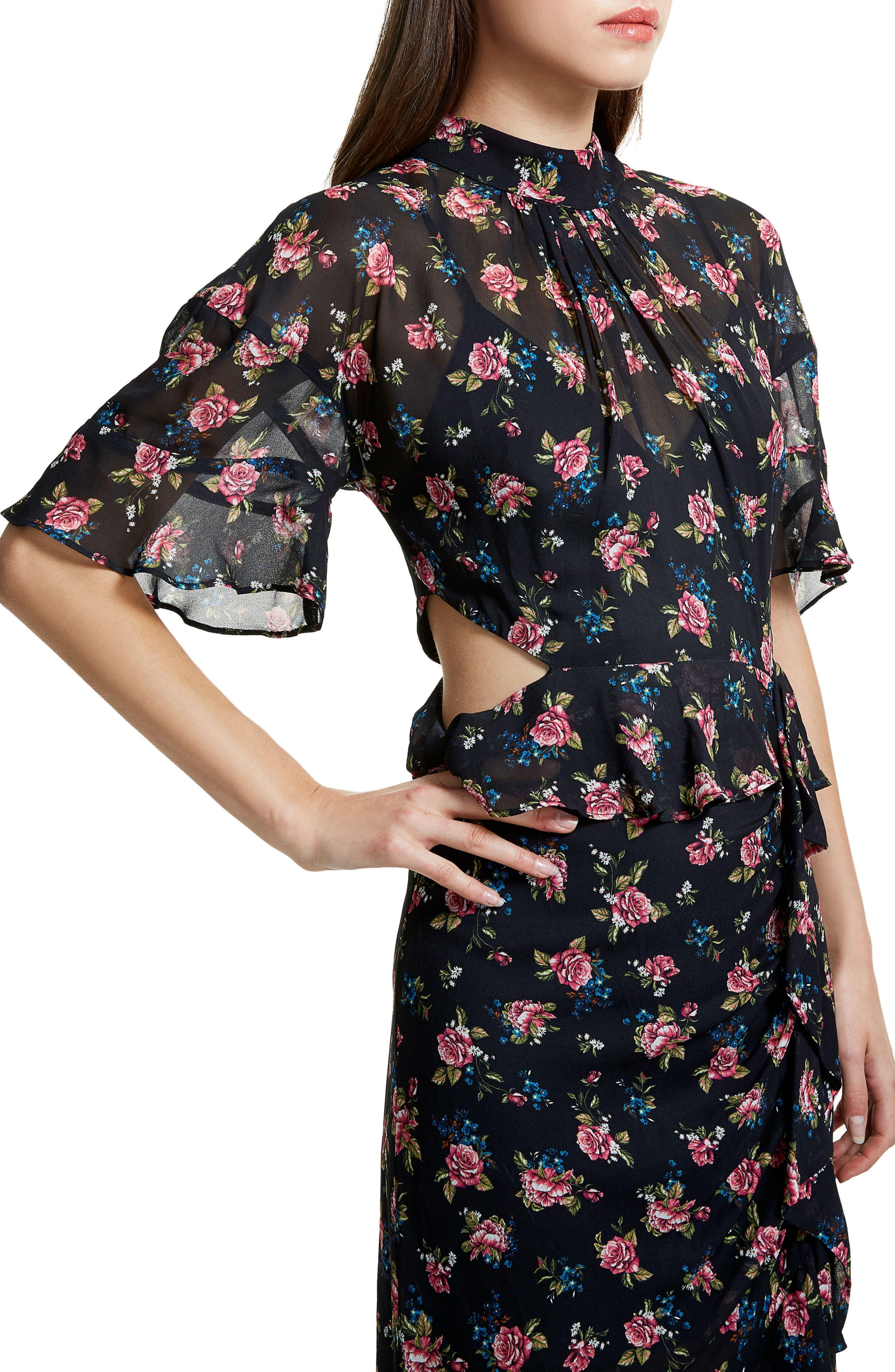 Alternate Image 4  - AFRM Melsa Cutout Maxi Dress