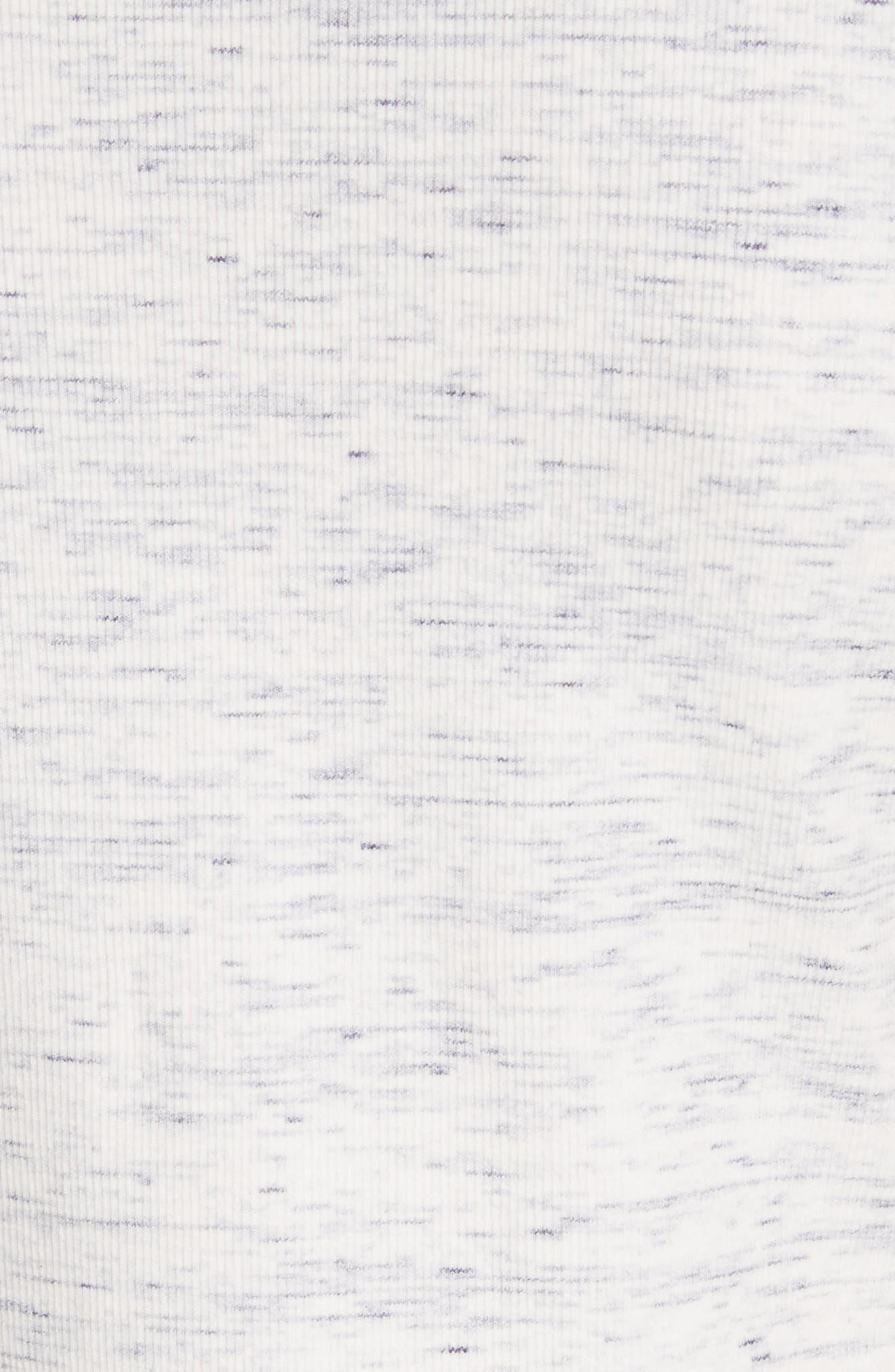 Cherry B3. T-Shirt Dress,                             Alternate thumbnail 5, color,                             Light Denim Melange