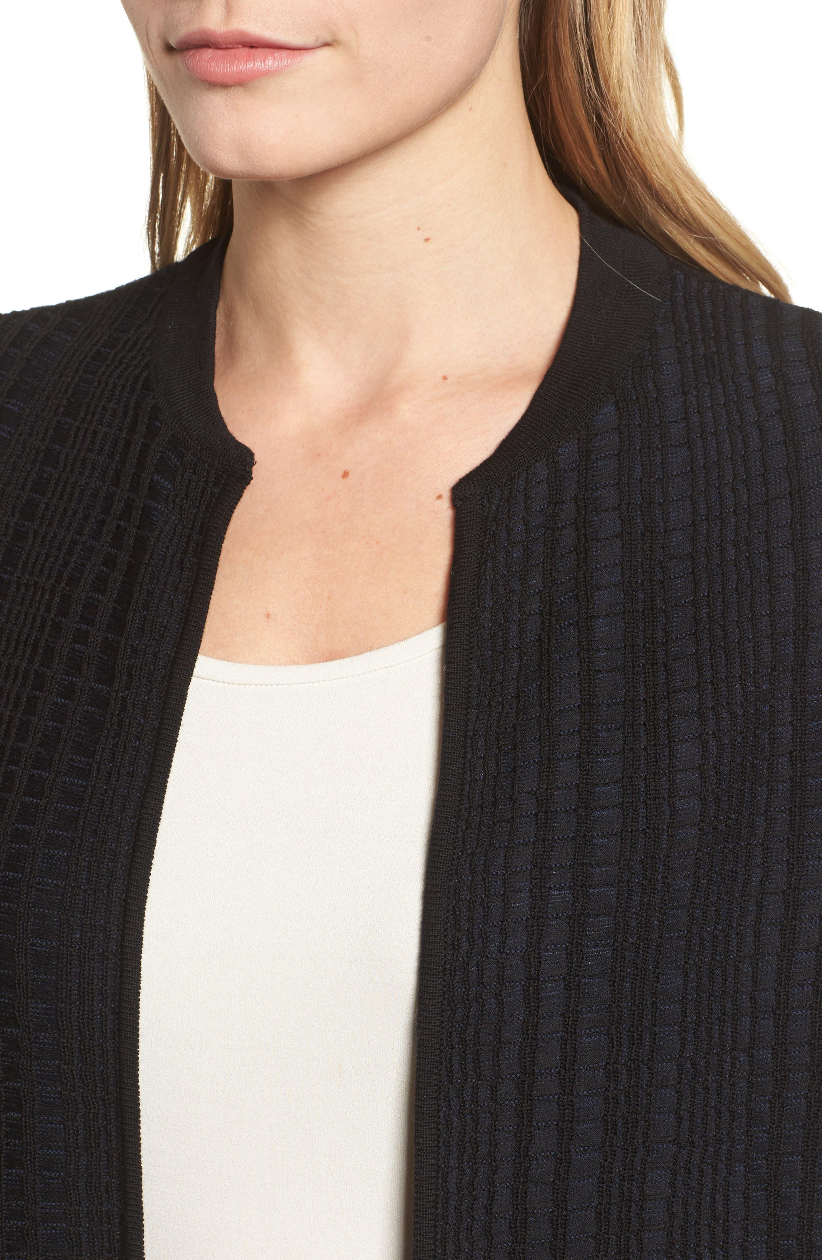 Alternate Image 4  - Eileen Fisher Tencel® Jacquard Jacket