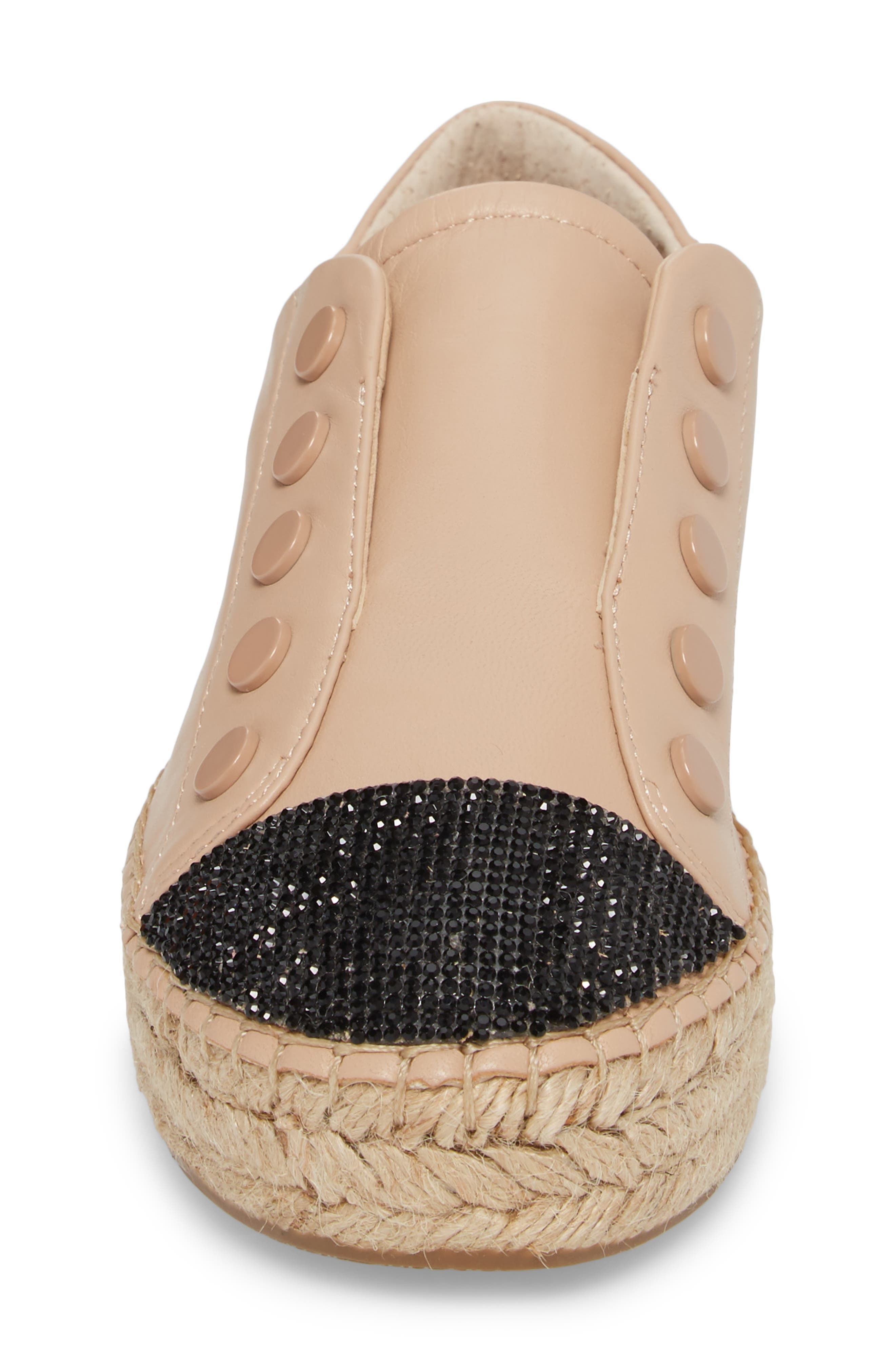 Juniper Espadrille Sneaker,                             Alternate thumbnail 4, color,                             Light Latte