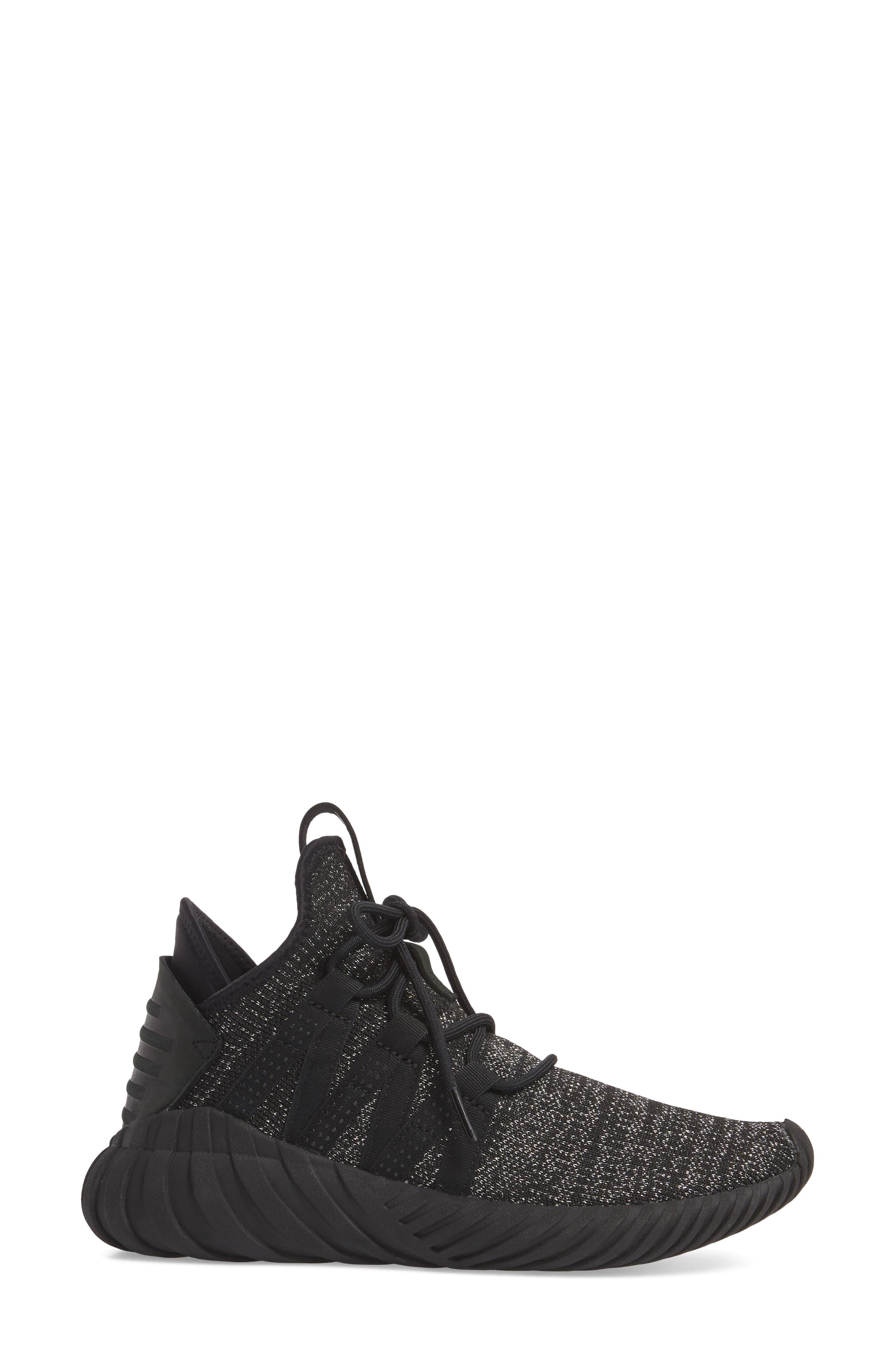 Alternate Image 3  - adidas Tubular Dawn Primeknit Sneaker (Women)