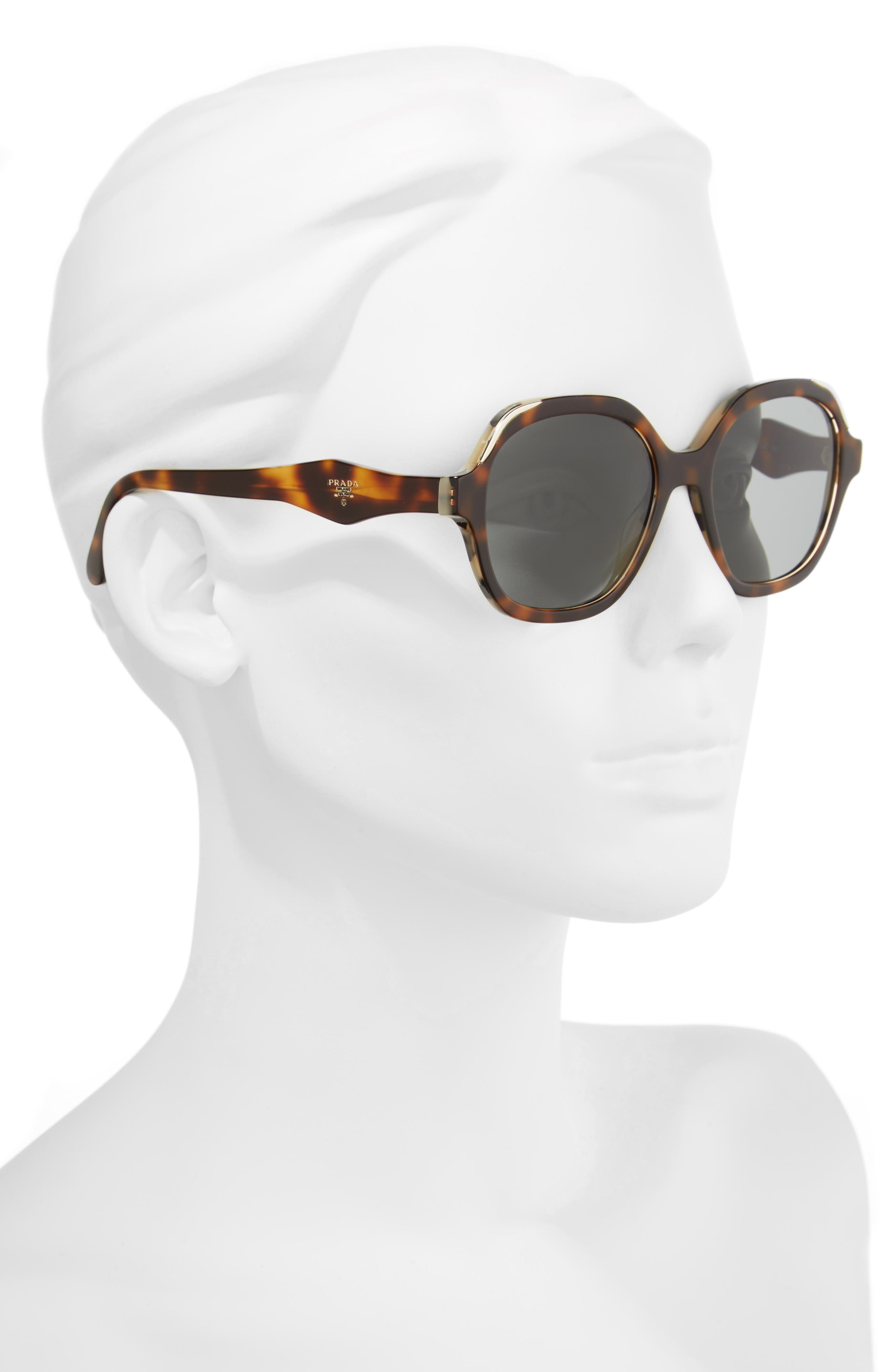 Alternate Image 2  - Prada 50mm Square Sunglasses