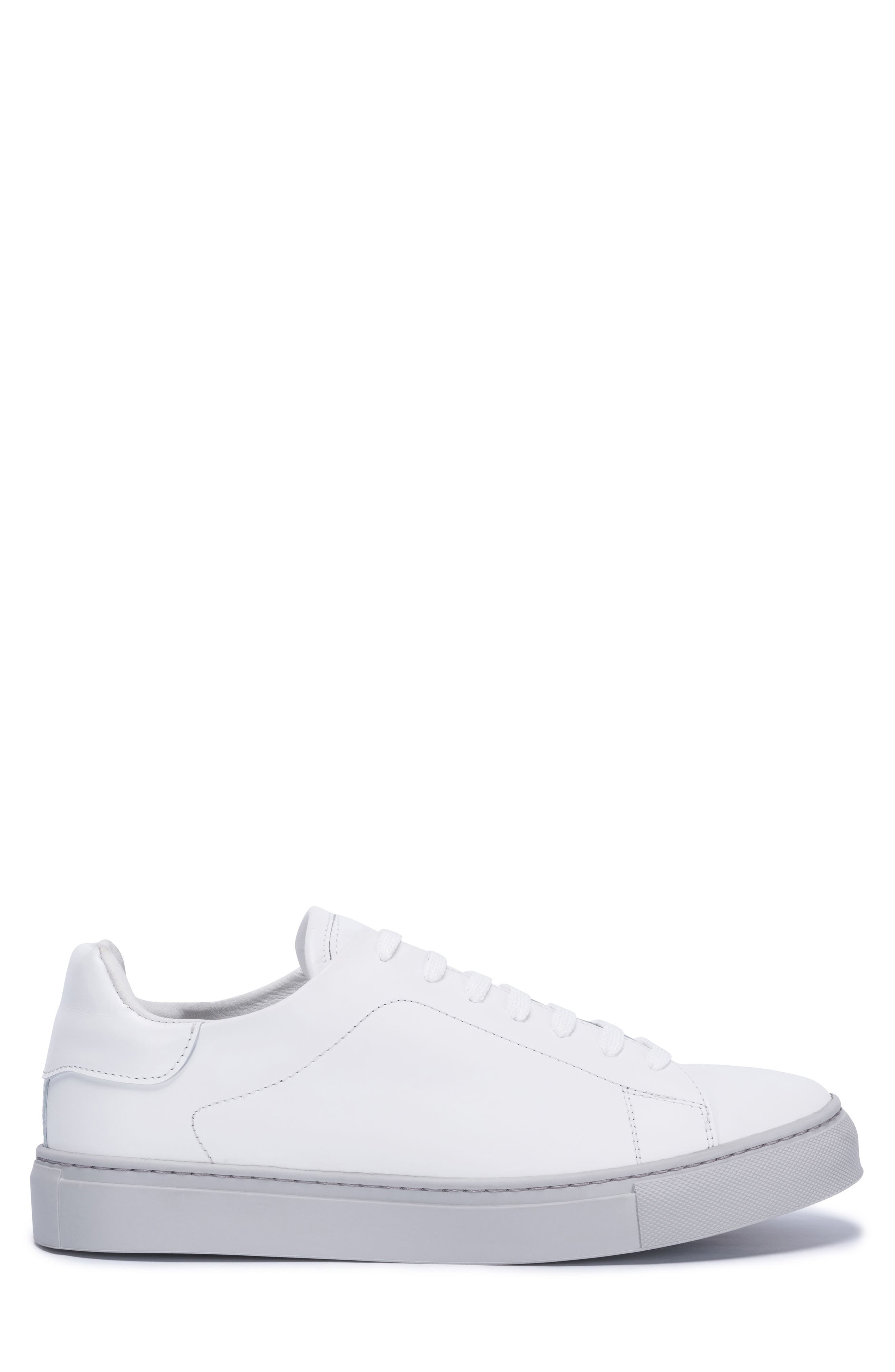 Massa Sneaker,                             Alternate thumbnail 3, color,                             Bianco Leather