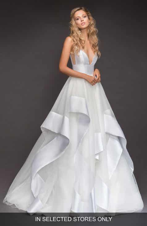 eb2a1355be0e5 Hayley Paige Andi Sweetheart Mikado   Tulle Ballgown