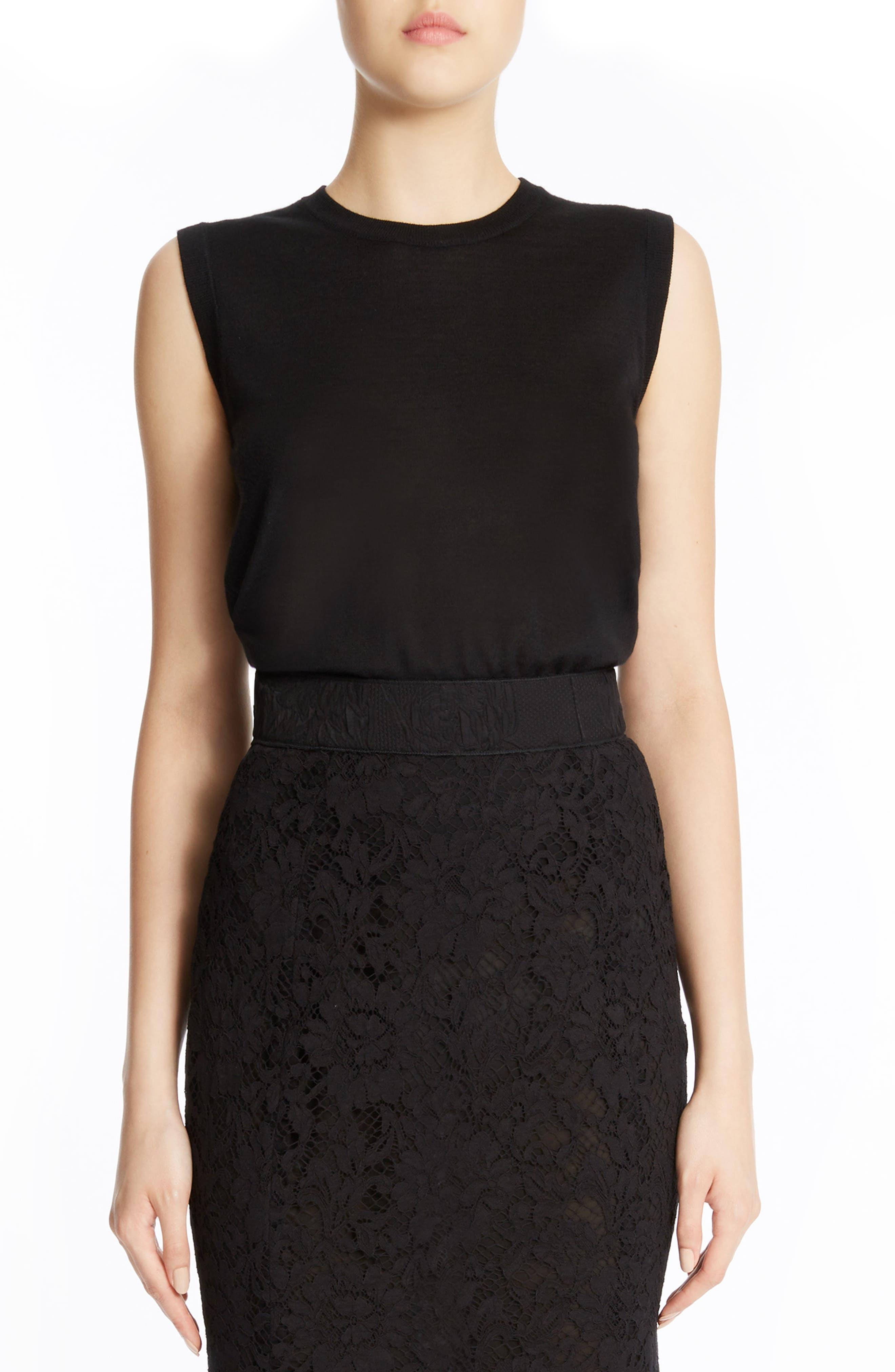 Dolce&Gabbana Cashmere & Silk Tank Top