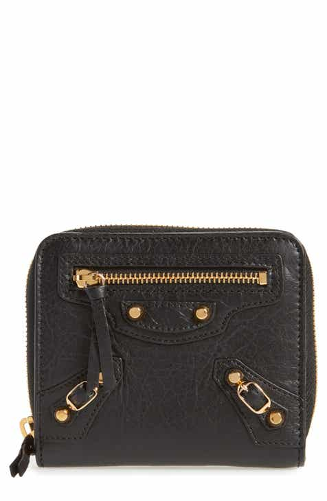 Balenciaga Classic Leather Bifold Wallet