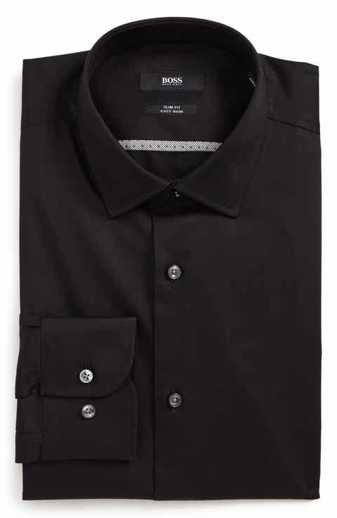 Men's Black Dress Shirts | Nordstrom