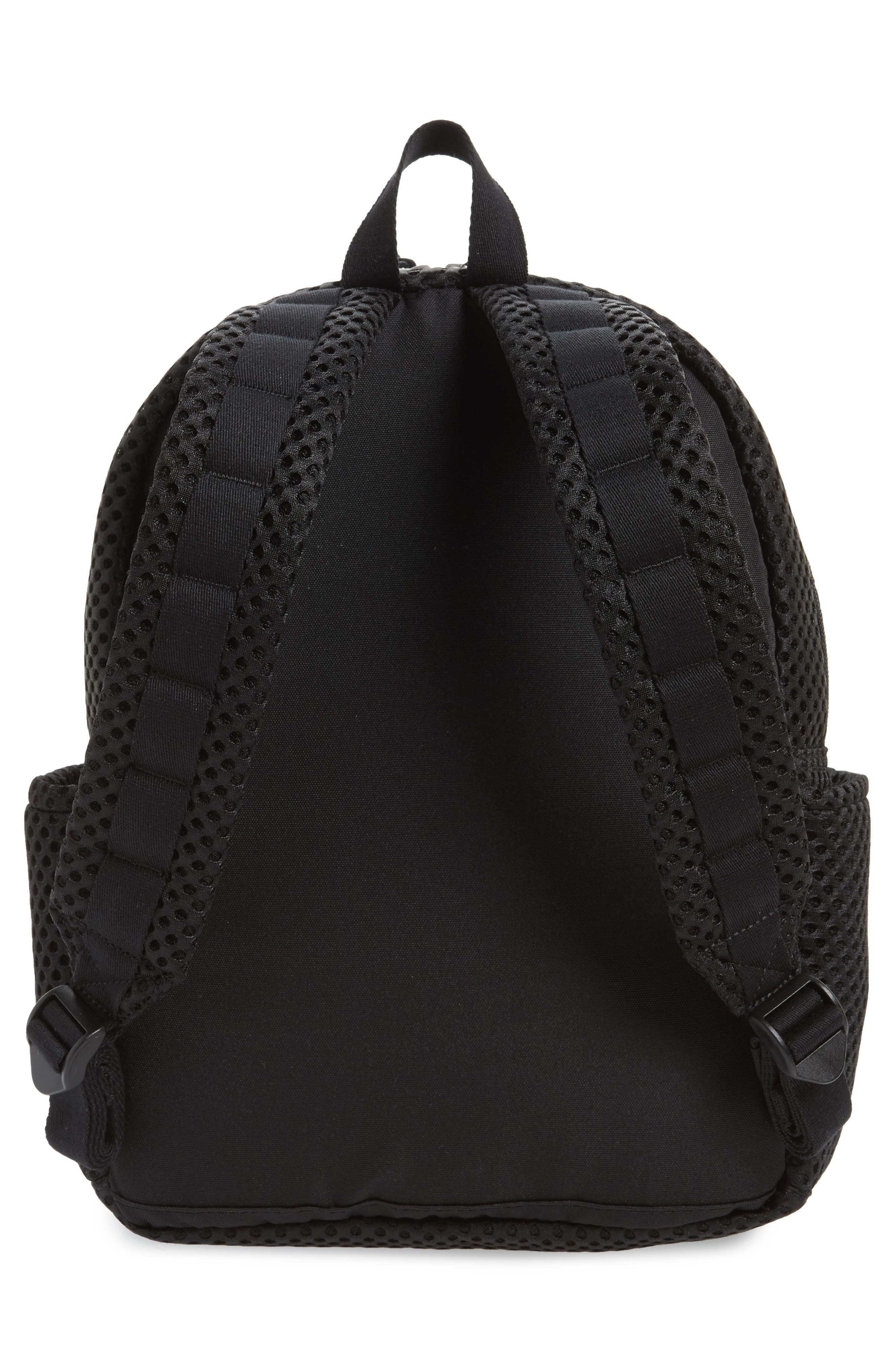 Lacrosse Mesh Kane Backpack,                             Alternate thumbnail 3, color,                             Black