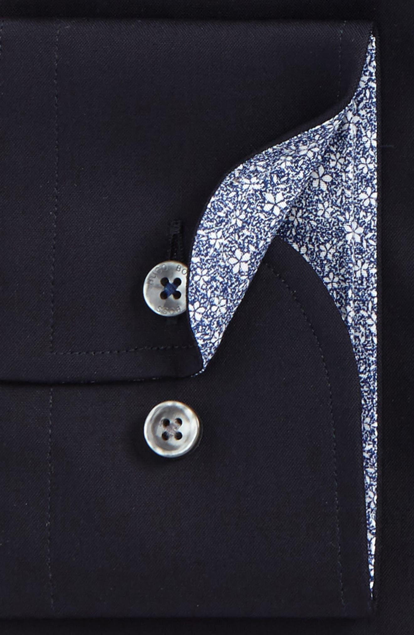 Alternate Image 2  - BOSS Jesse Slim Fit Easy Iron Dress Shirt
