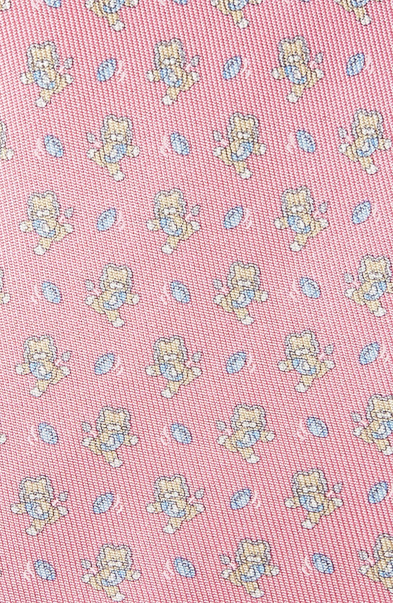 Alternate Image 2  - Salvatore Ferragamo Ernesto Cat Print Silk Tie