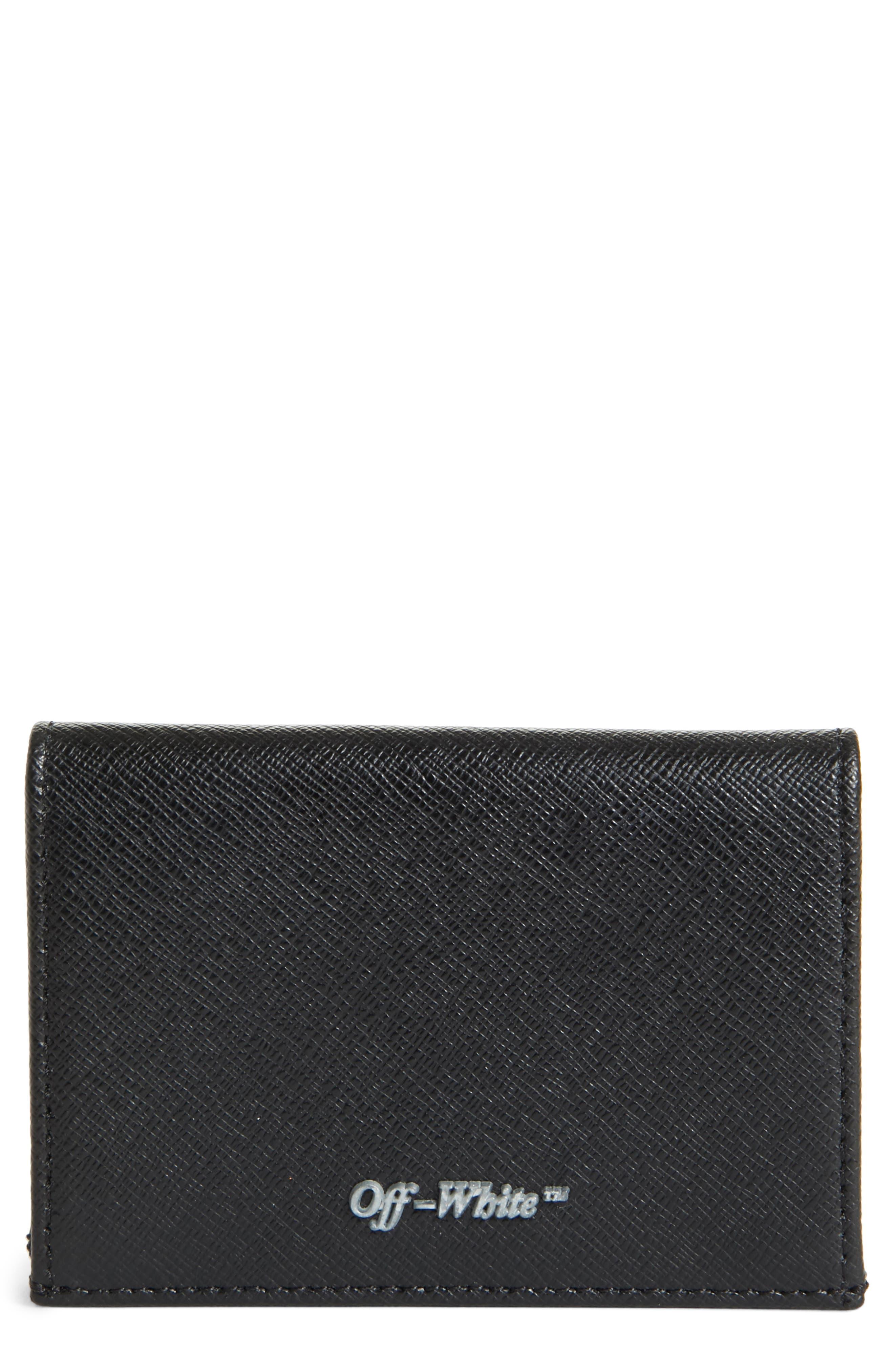 Small Flap Wallet,                             Main thumbnail 1, color,                             Black