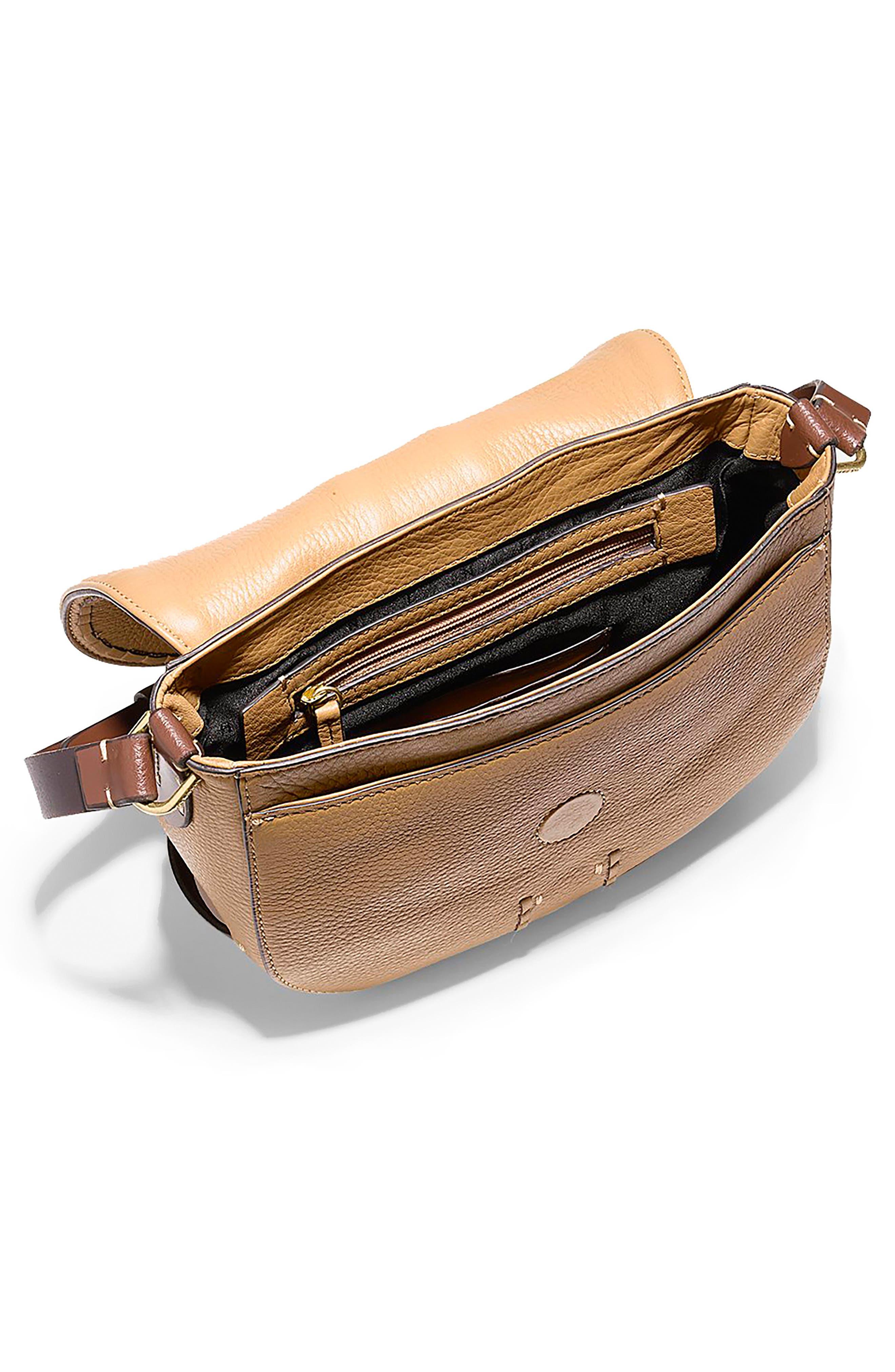 Alternate Image 3  - Cole Haan Mini Loralie Whipstitch Leather Saddle Bag