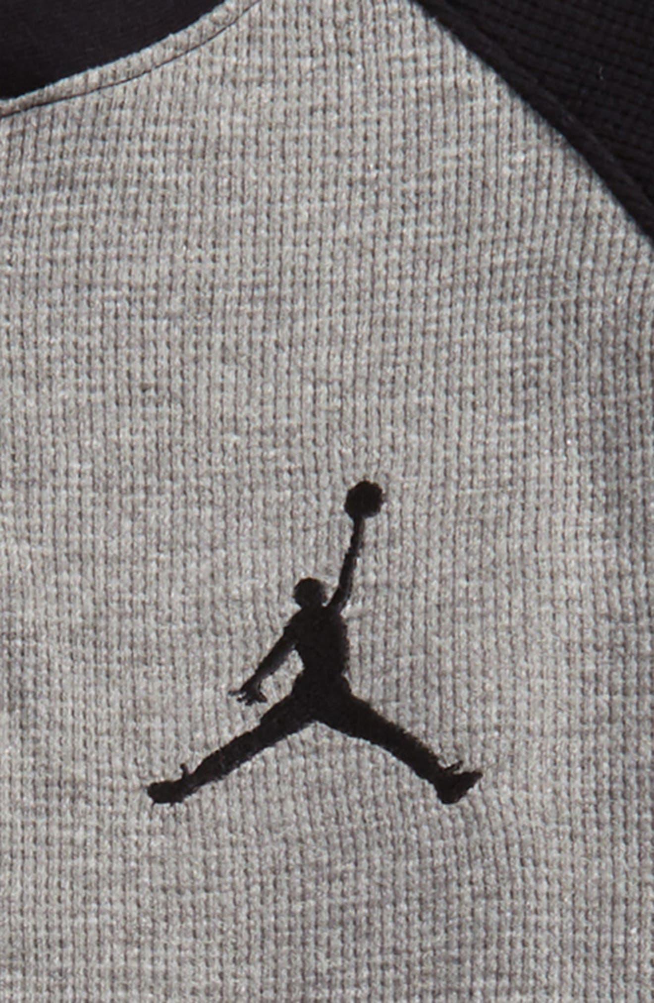 Alternate Image 2  - Jordan Long Sleeve Thermal Henley (Big Boys)