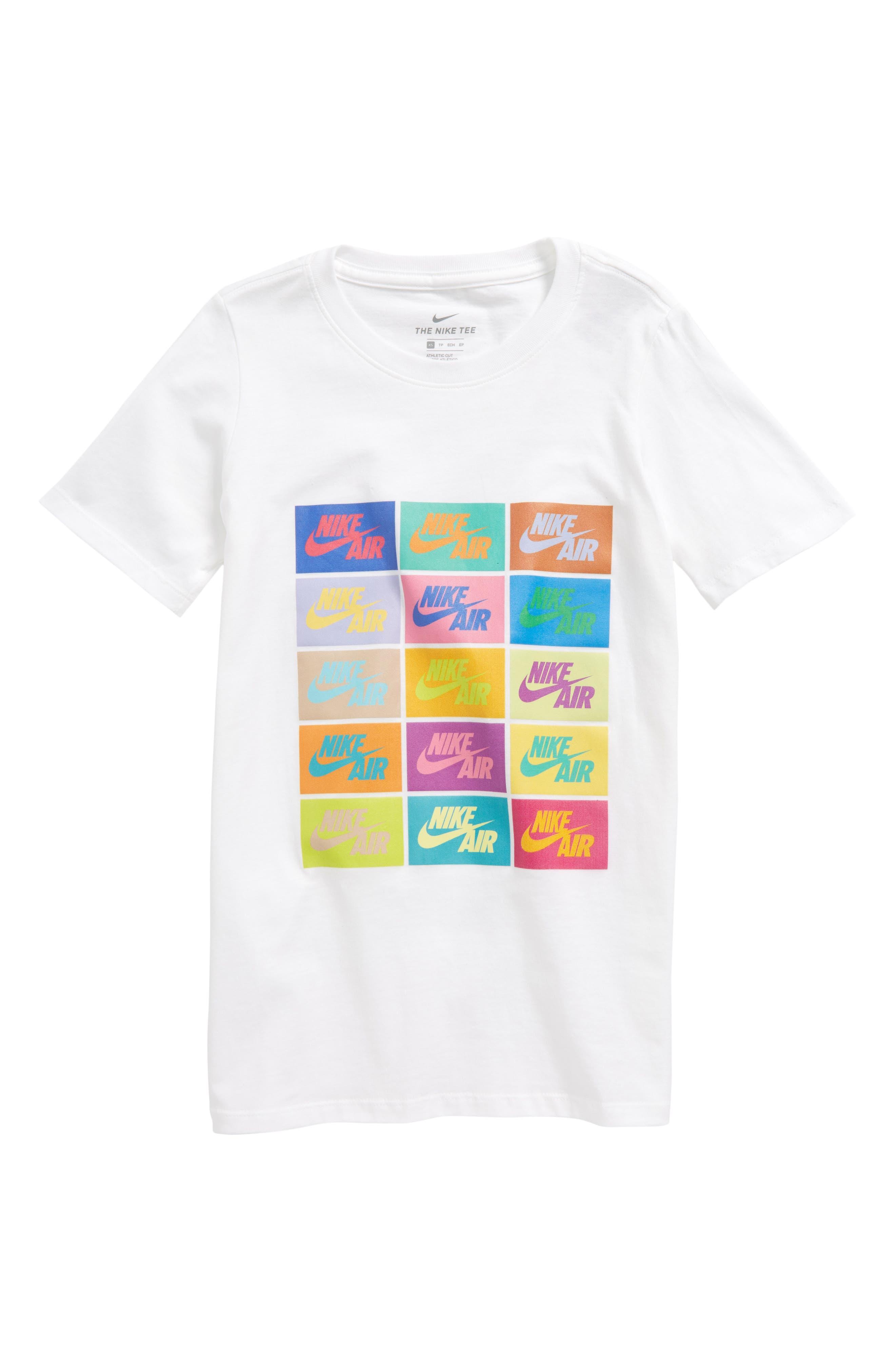 Sportswear Pop Art Graphic T-Shirt,                             Main thumbnail 1, color,                             White