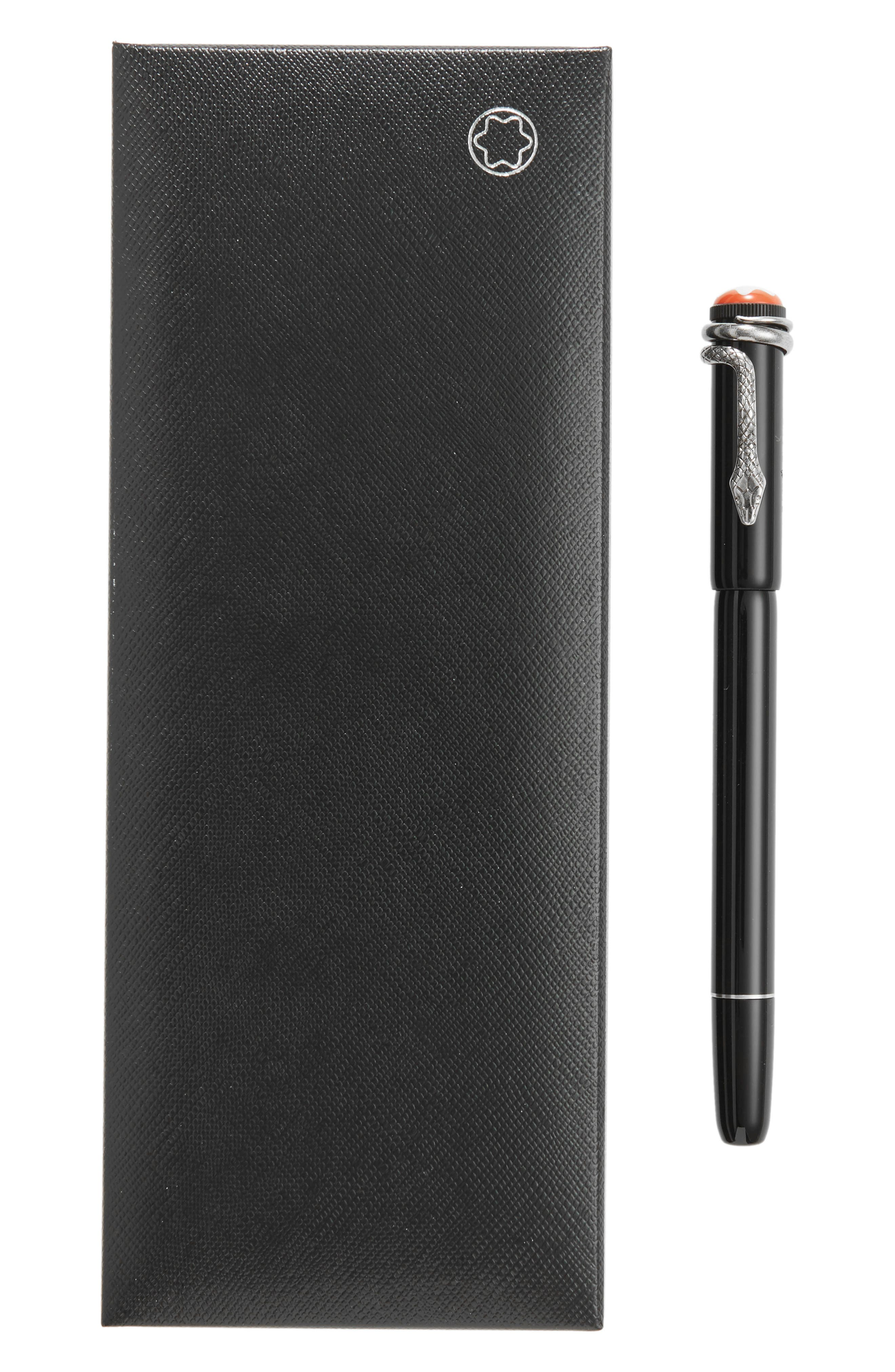 Heritage Collection Rouge et Noir Special Edition Rollerball Pen,                             Alternate thumbnail 2, color,                             Black